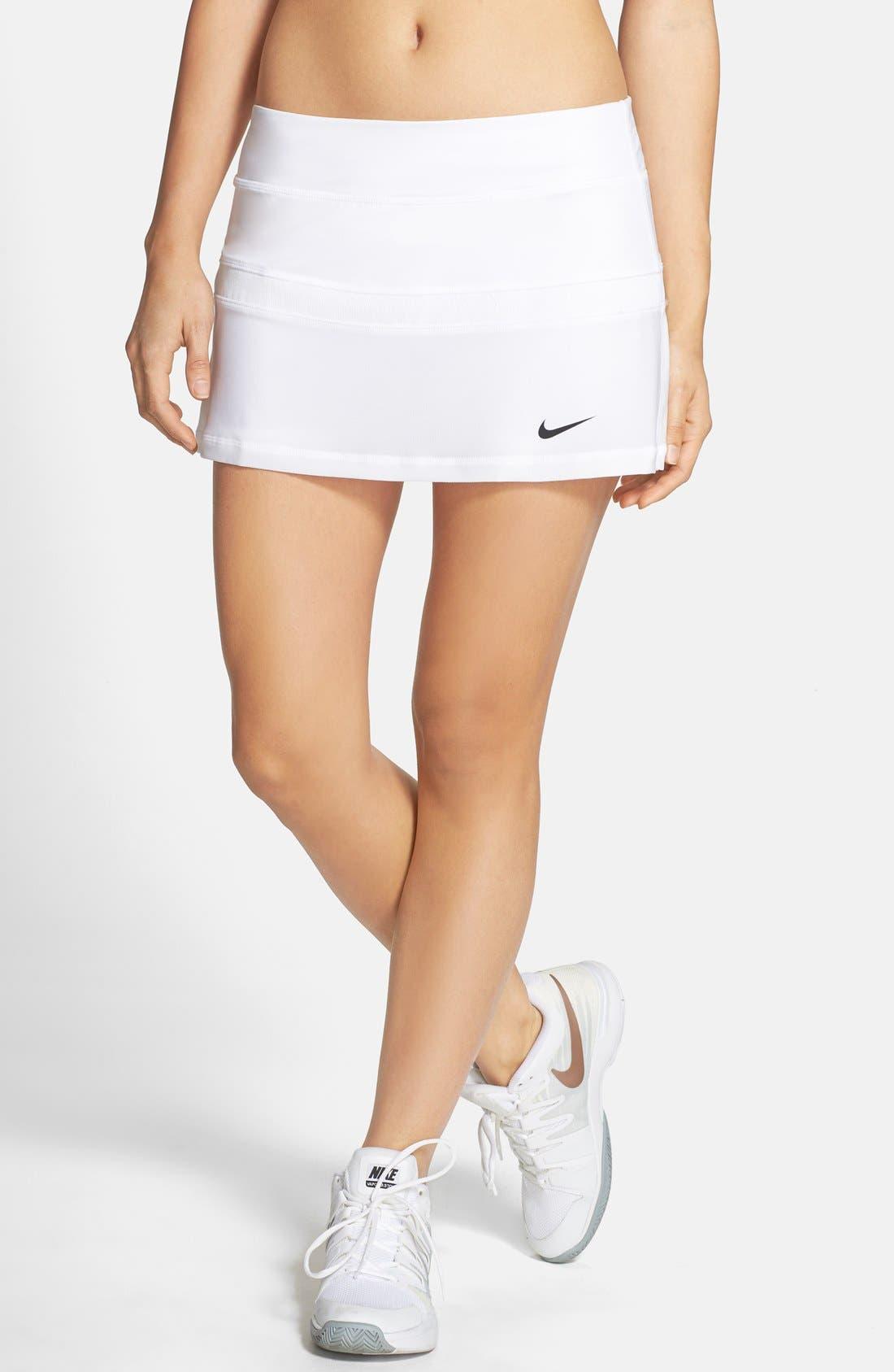 Alternate Image 1 Selected - Nike Colorblock Tennis Skirt