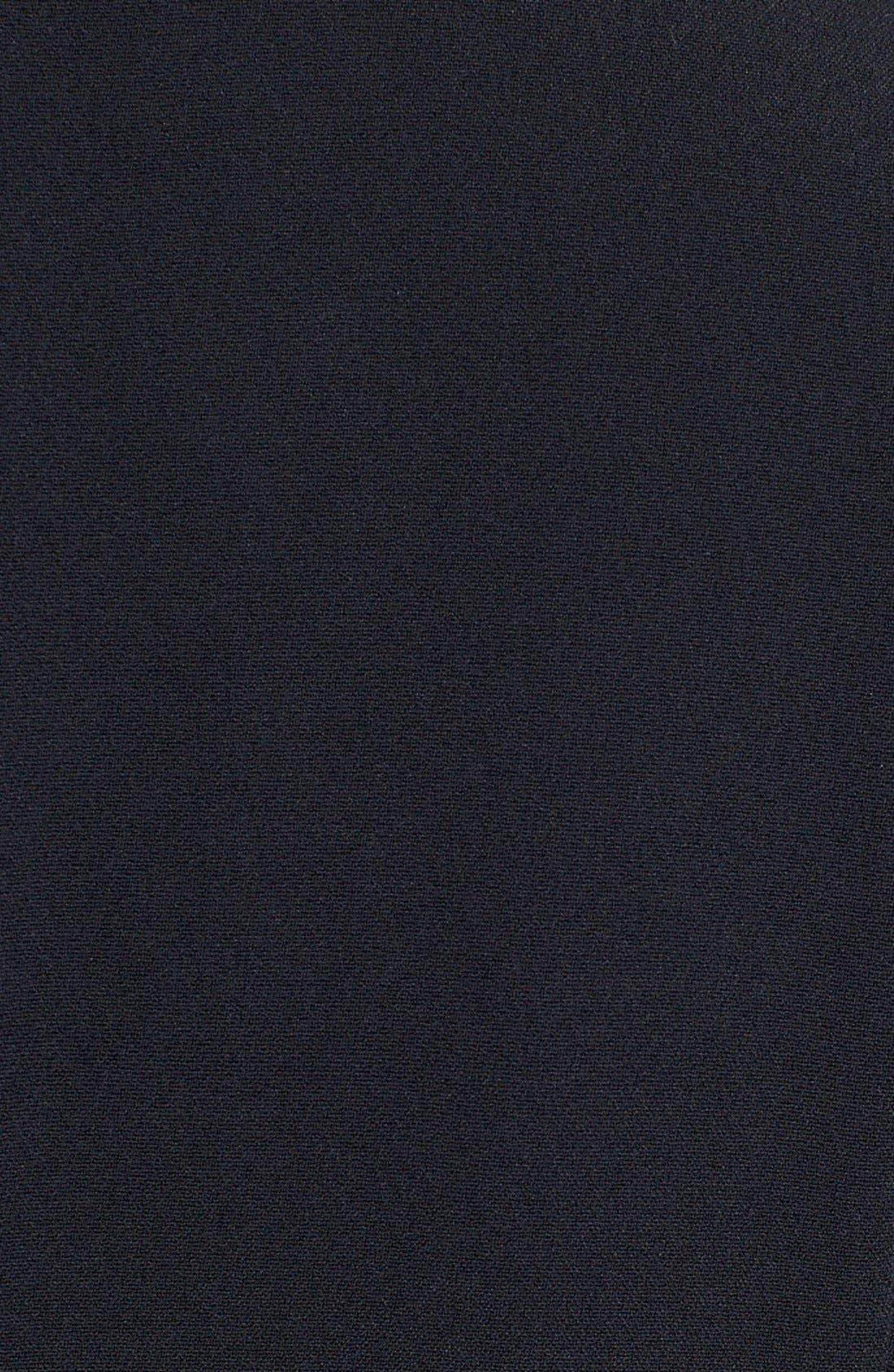 Alternate Image 3  - Dolce&Gabbana Mock Turtleneck Cady A-Line Dress