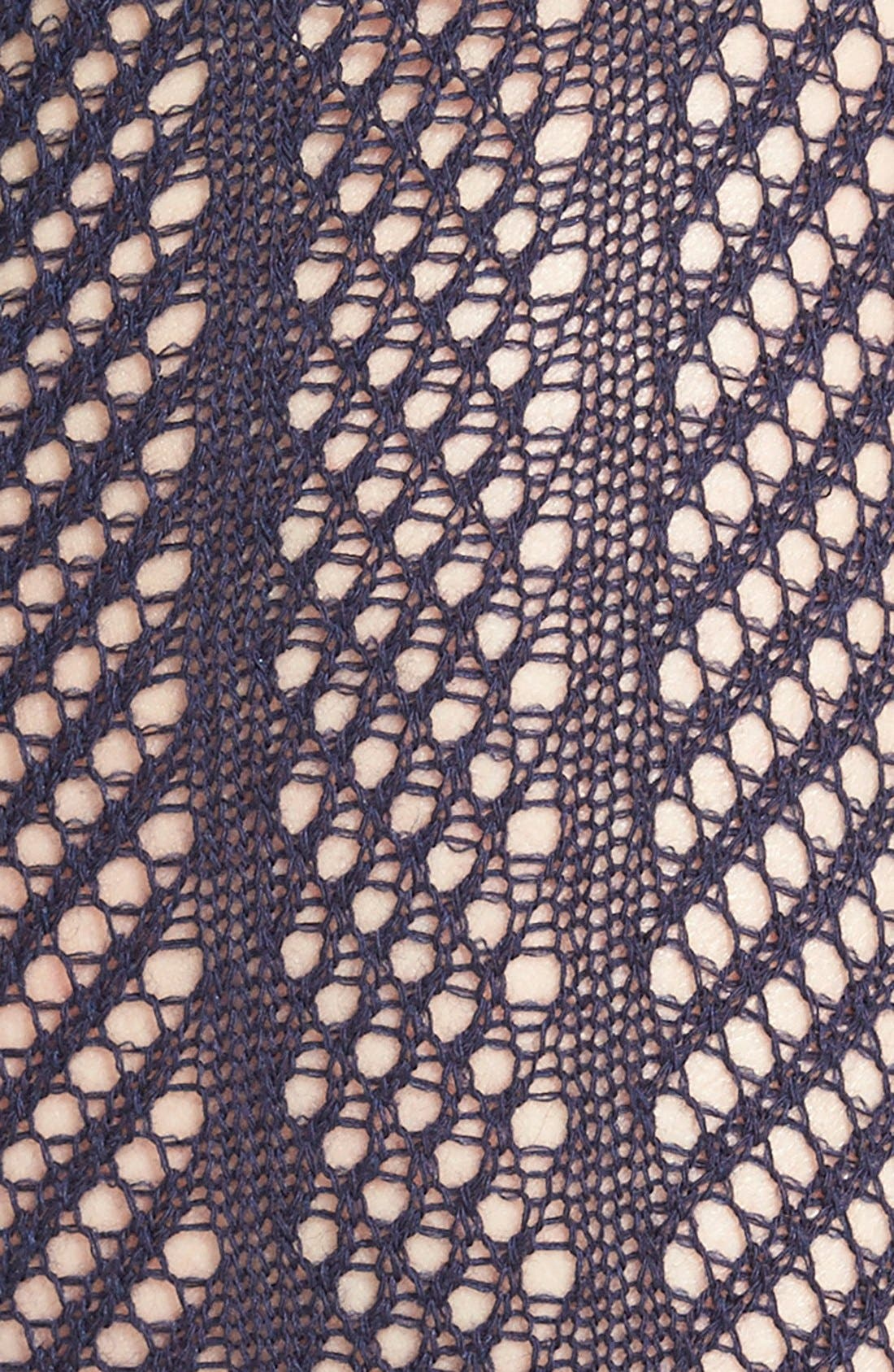 Alternate Image 3  - Vince Camuto Openwork Knit Thigh High Socks (Online Only)