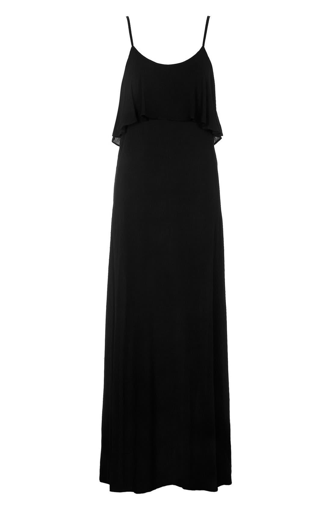 Alternate Image 3  - KENDALL + KYLIE at Topshop Layered Maxi Dress