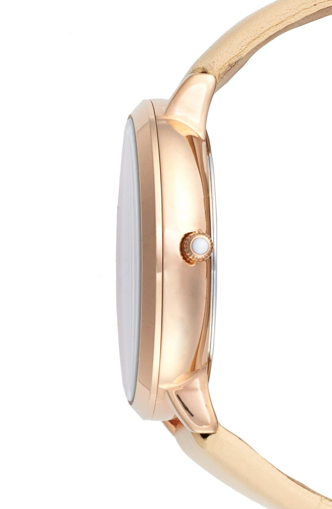 Alternate Image 3  - Ted Baker London 'Dress Sport' Multifunction Leather Strap Watch, 38mm