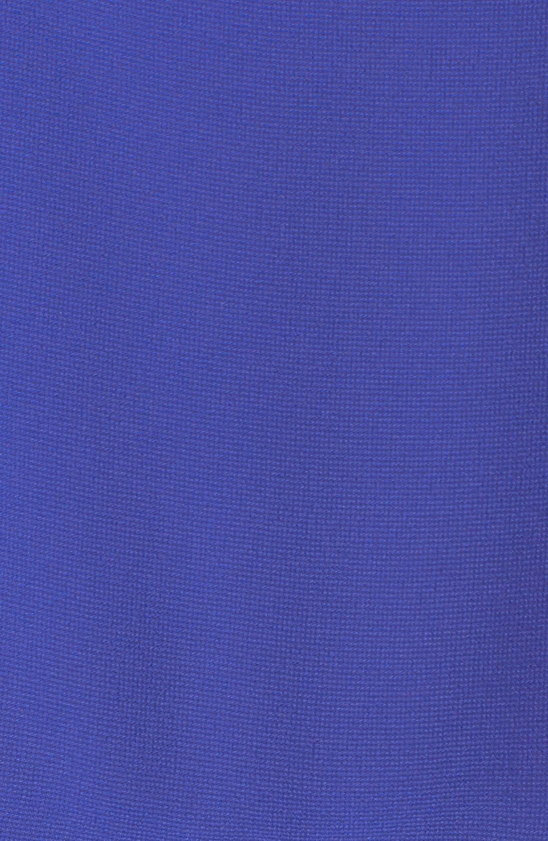 Alternate Image 4  - Adelyn Rae Layered Drawstring Chiffon Dress