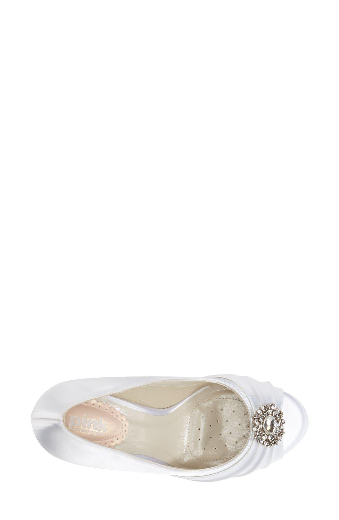 Alternate Image 3  - pink paradox london 'Caramel' Crystal Embellished Platform Pump (Women)