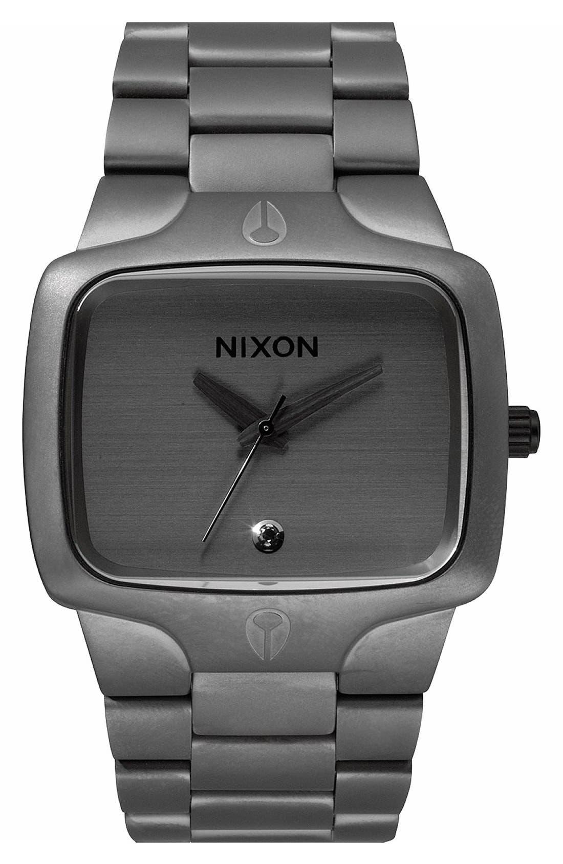 Alternate Image 1 Selected - Nixon 'The Player' Bracelet Watch, 40mm