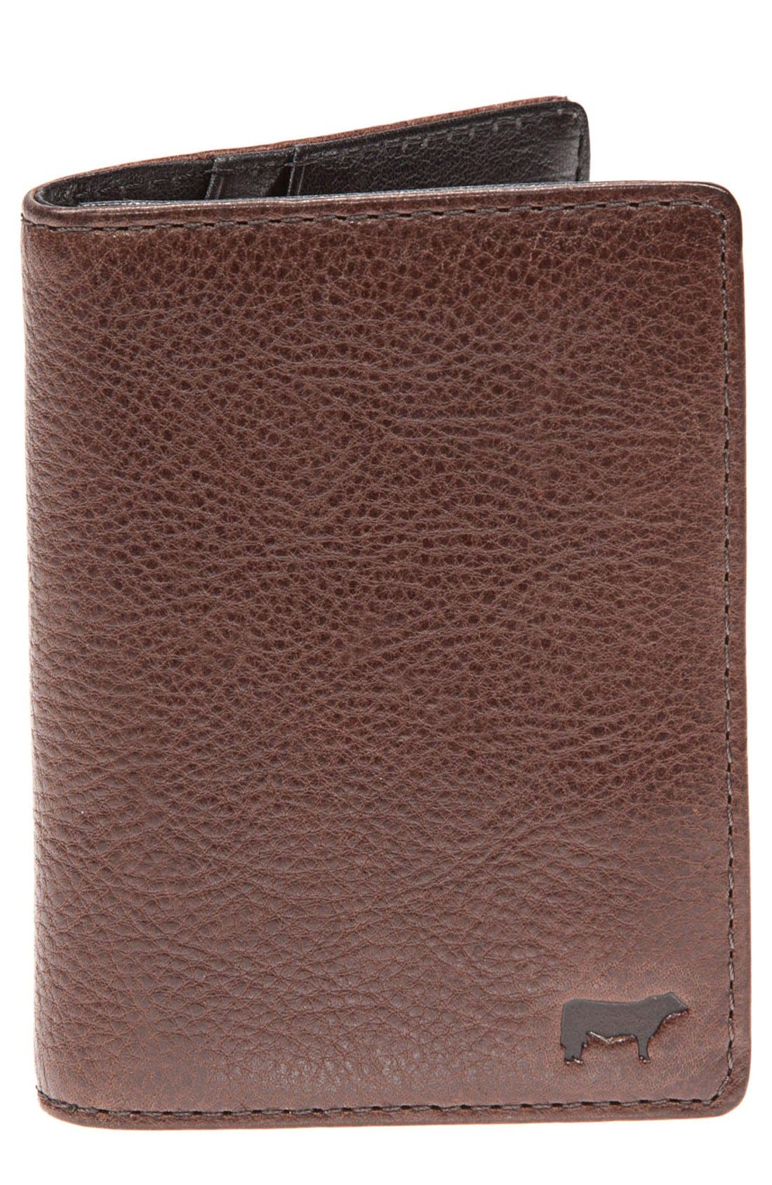 Main Image - Will Leather Goods 'Clyde' Front Pocket Wallet