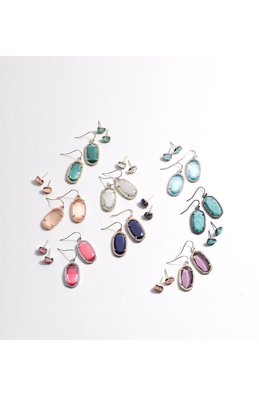 Alternate Image 2  - Kendra Scott 'Hazel' Stone Stud Earrings