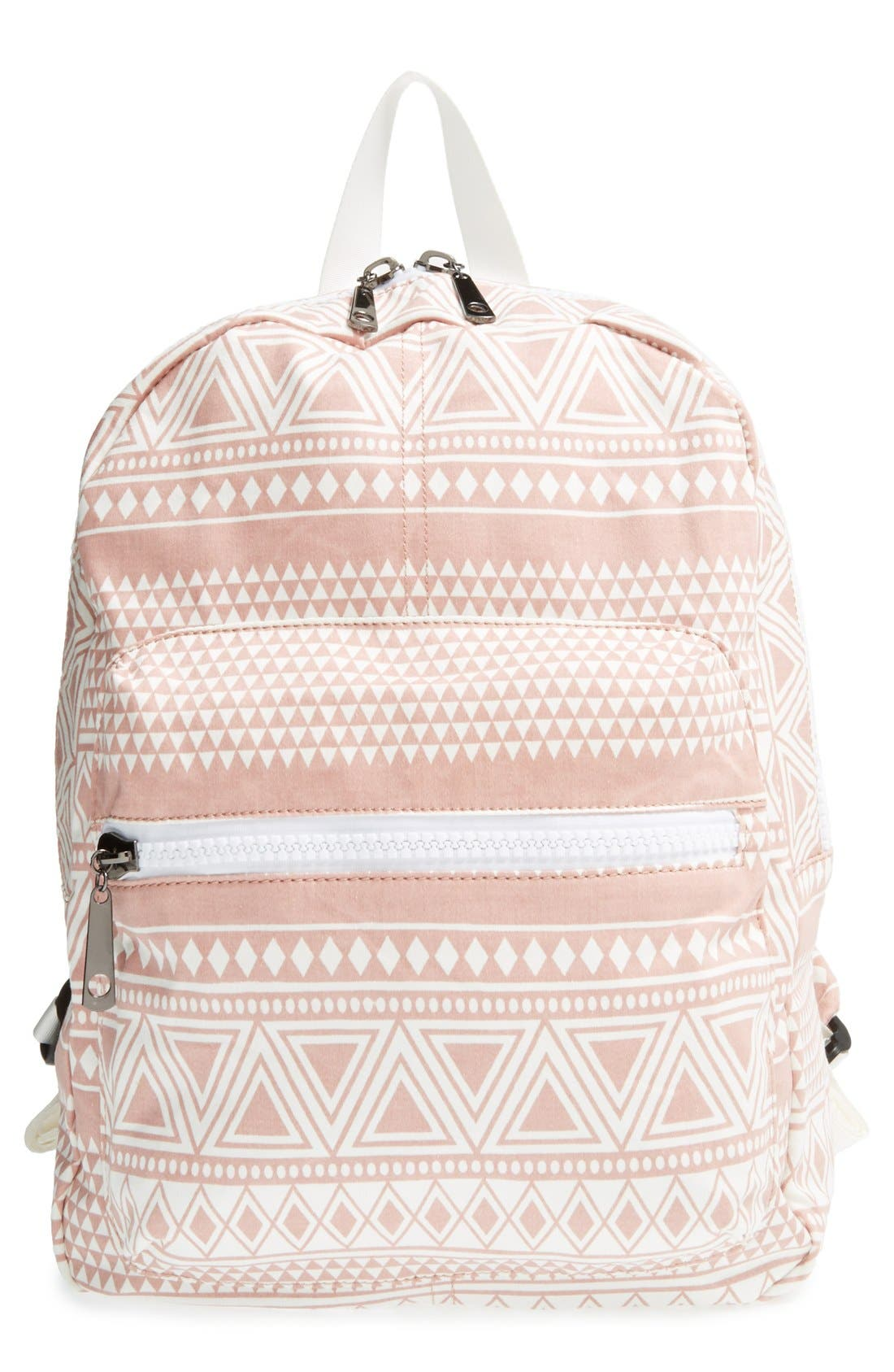 Alternate Image 1 Selected - Nila Anthony Geometric Print Backpack