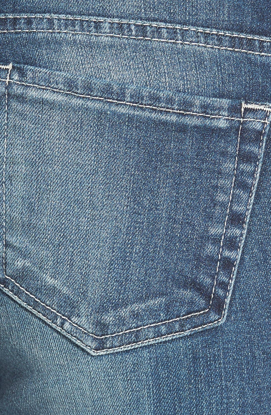 Alternate Image 3  - KUT from the Kloth 'Adele' Distressed Slouchy Boyfriend Jeans (Close)