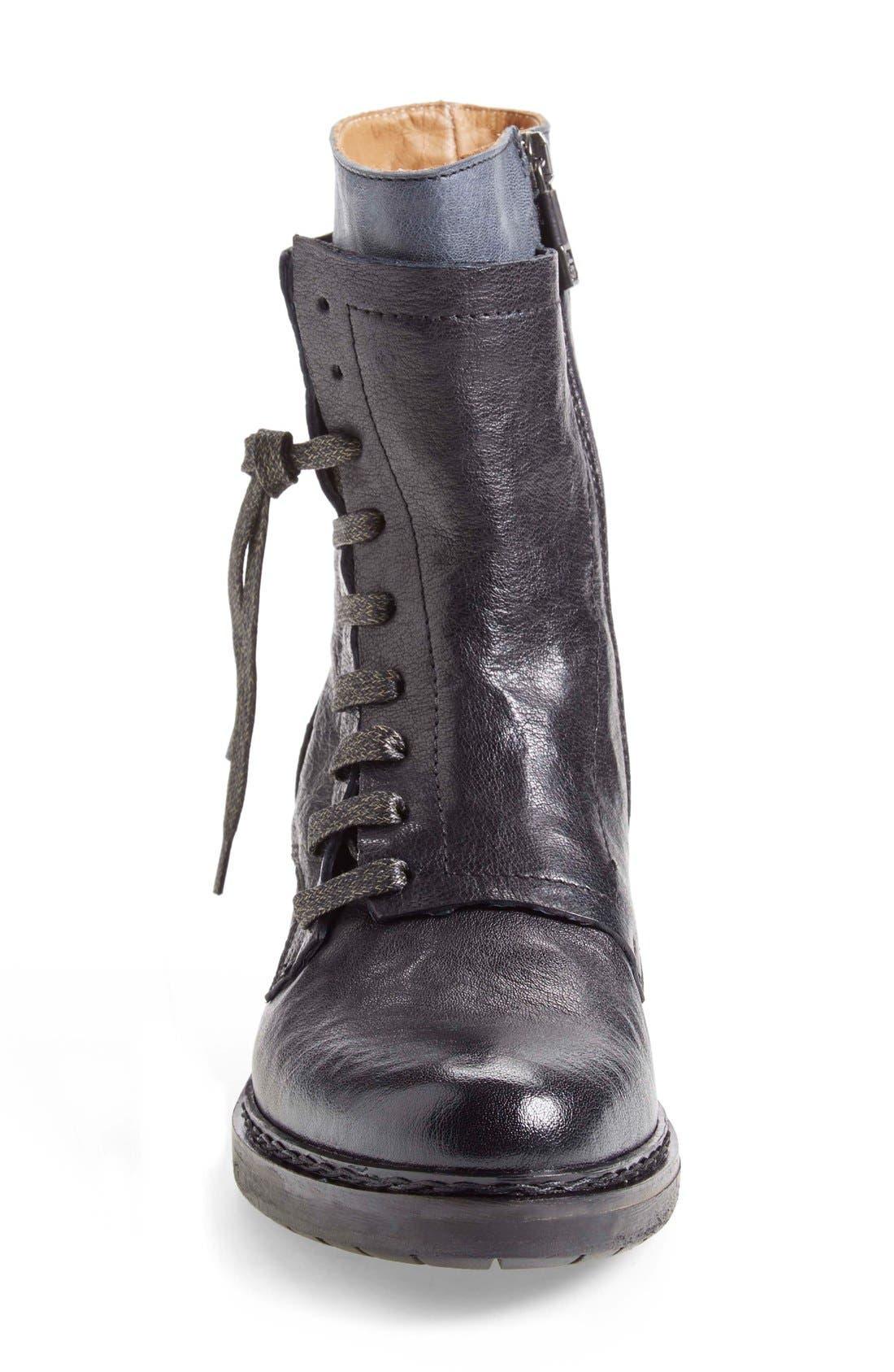 Alternate Image 3  - Alberto Fermani 'Freya' Lace-Up Combat Boot (Women)