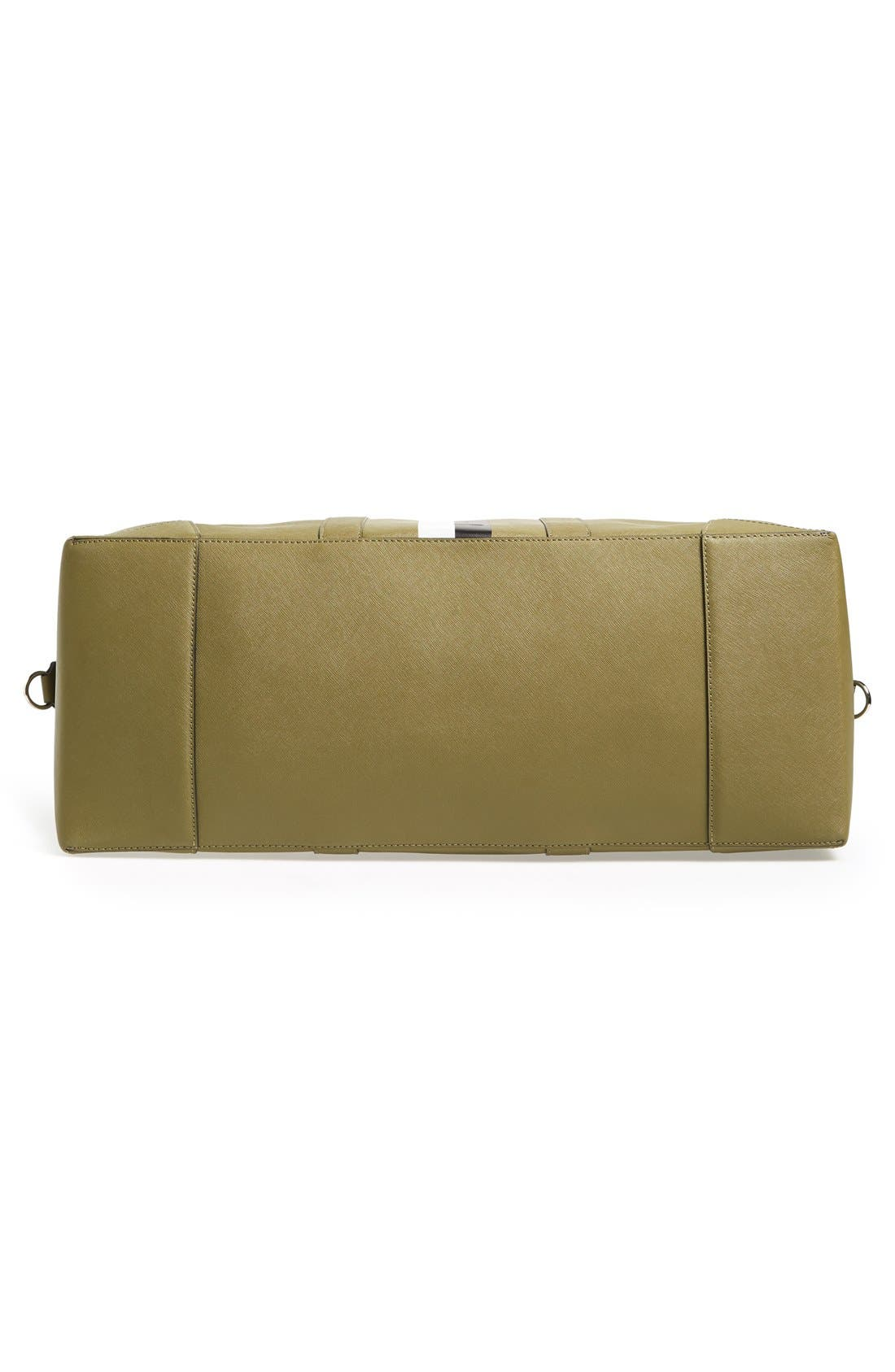 Alternate Image 6  - Ben Minkoff 'Wythe' Weekend Size Saffiano Leather Duffel Bag