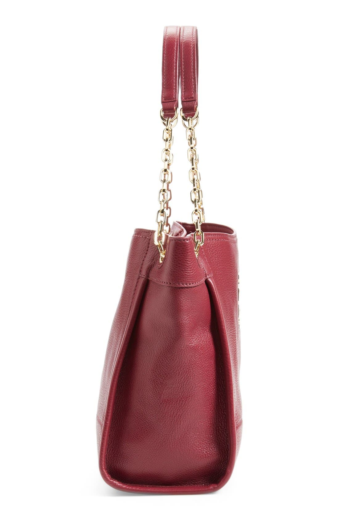 Alternate Image 2  - Tory Burch 'Small Britten' Leather Slouchy Tote
