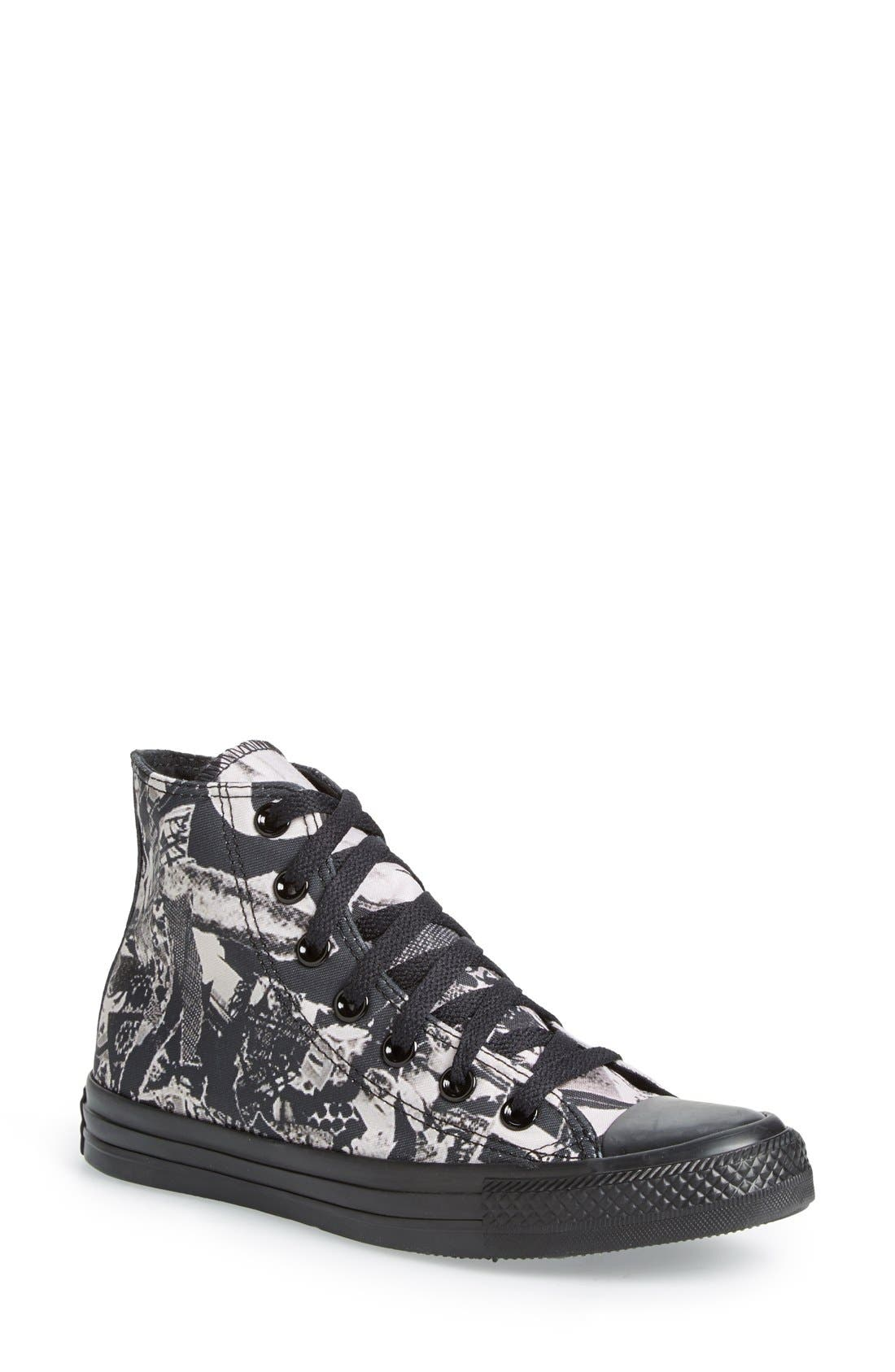 Alternate Image 1 Selected - Converse Chuck Taylor® All Star® Print High Top Sneaker (Women)