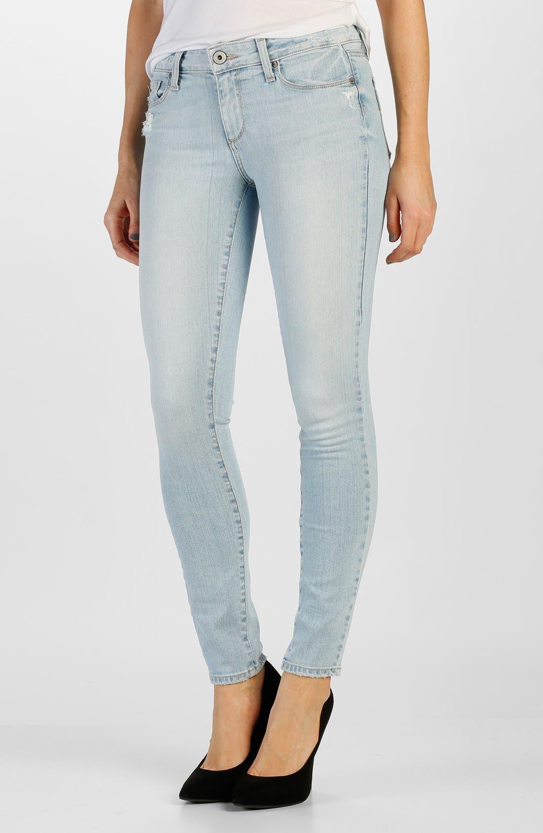 Main Image - Paige Denim 'Verdugo' Ultra Skinny Jeans (Harriet Destructed)