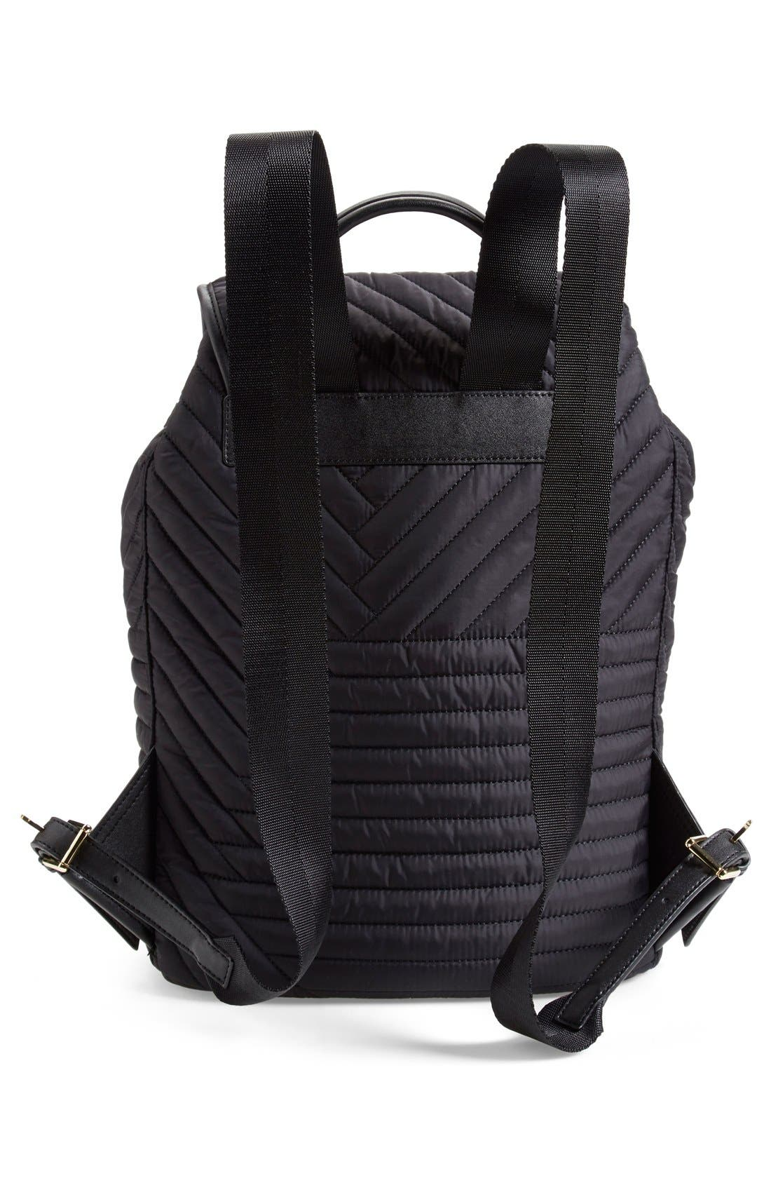 Alternate Image 3  - Tory Burch Quilted Nylon Backpack