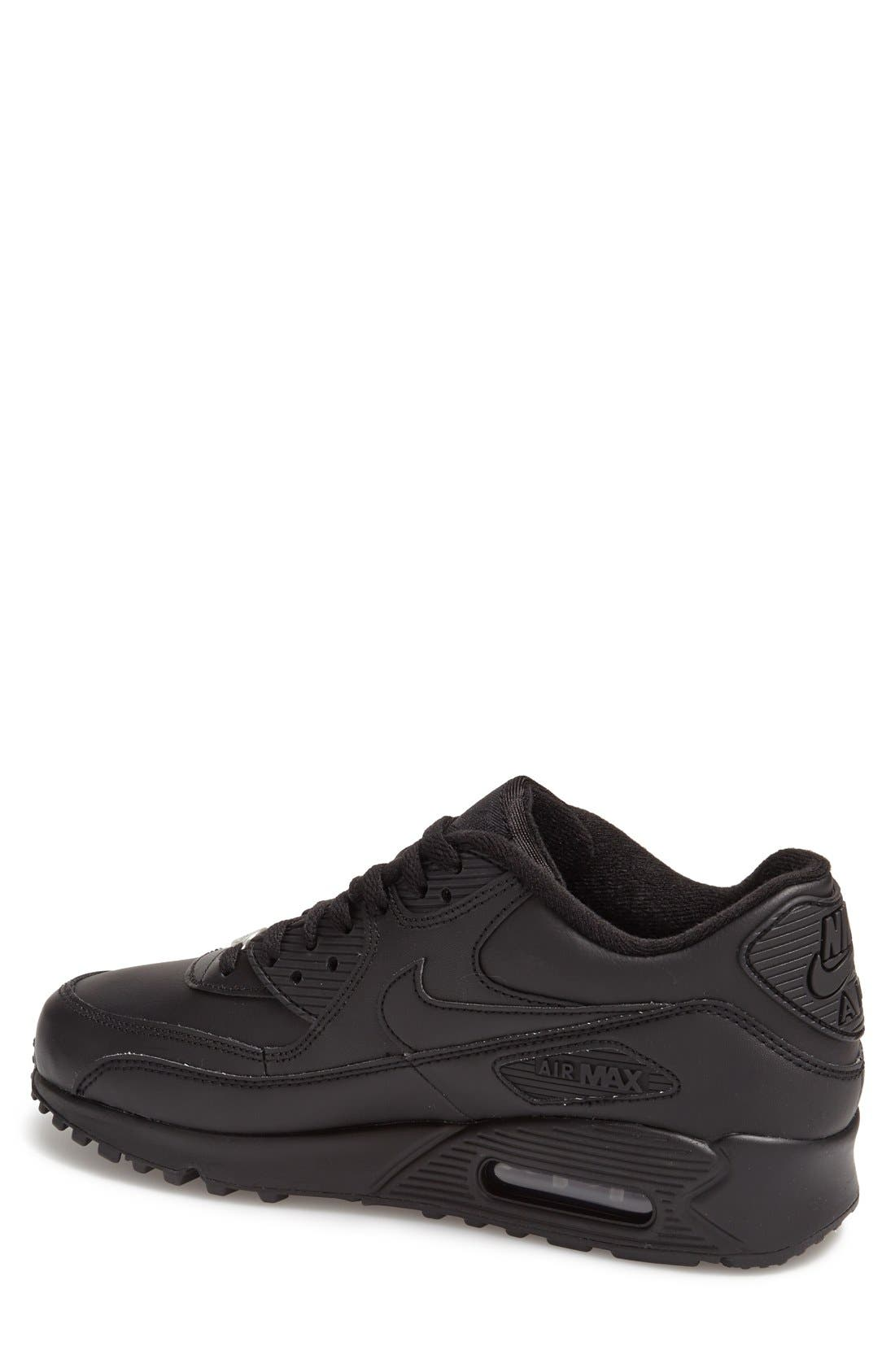 Alternate Image 2  - Nike 'Air Max 90' Leather Sneaker (Men)