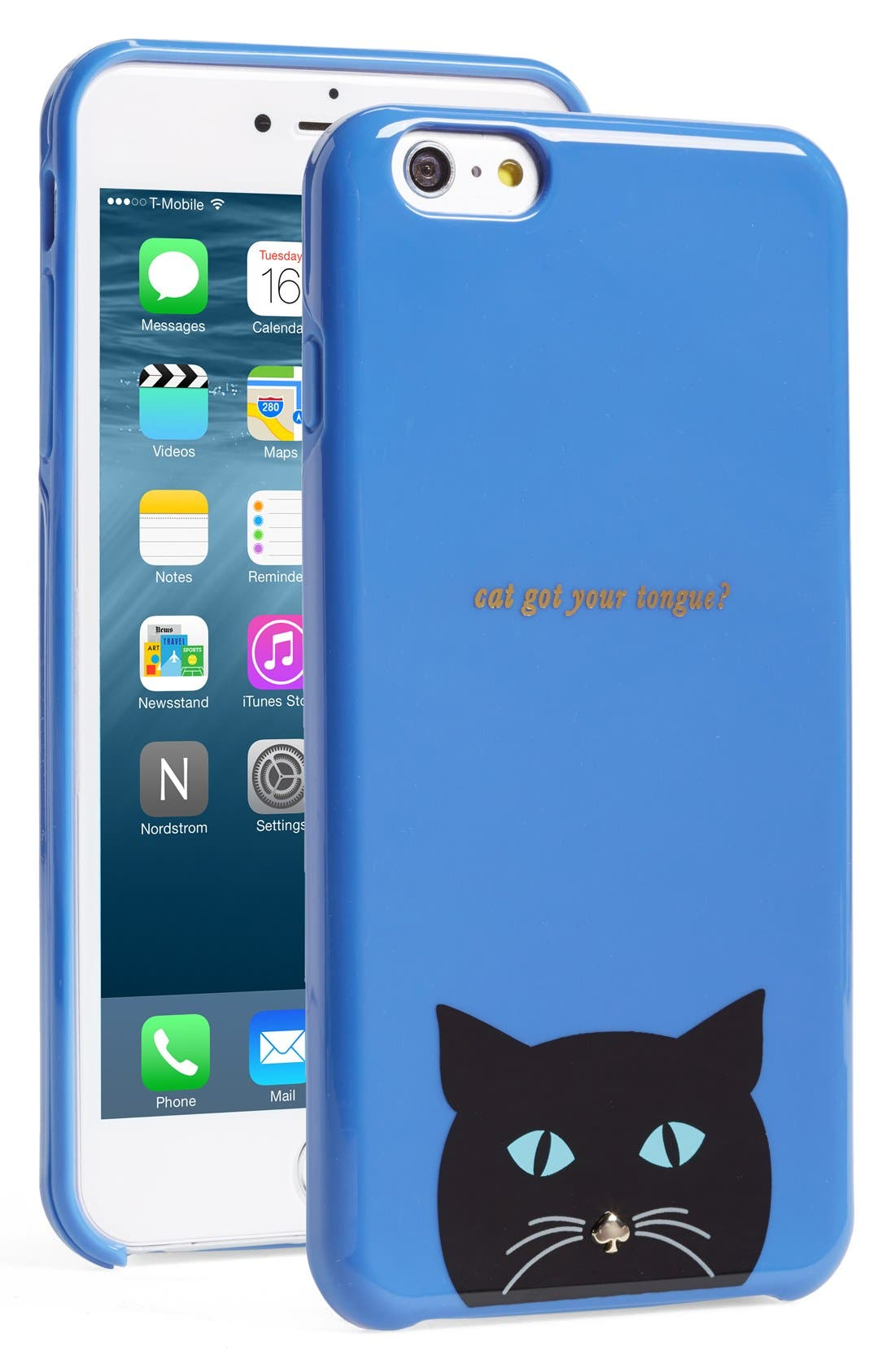 Alternate Image 1 Selected - kate spade new york 'cat' iPhone 6 Plus case