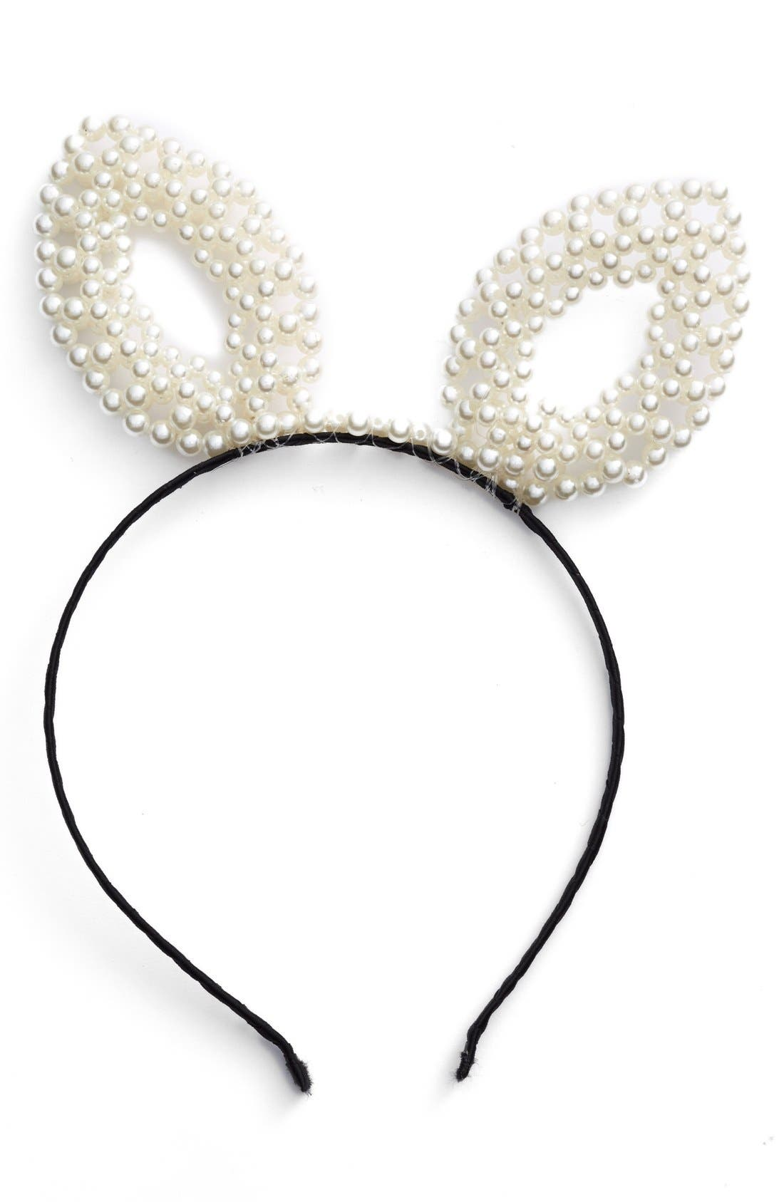 Main Image - BP. Pearly Bunny Ear Headband