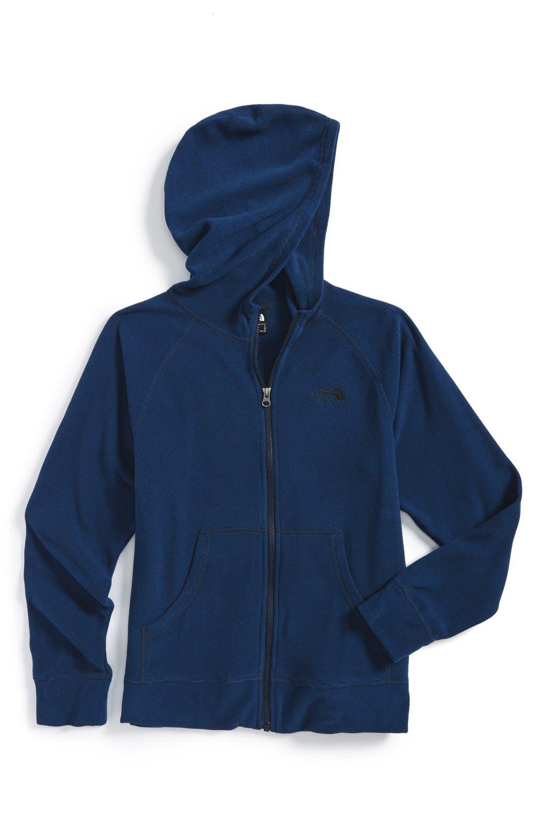 Main Image - The North Face 'Glacier' Fleece Hoodie (Toddler Boys, Little Boys & Big Boys) (Regular Retail Price: $50.00)