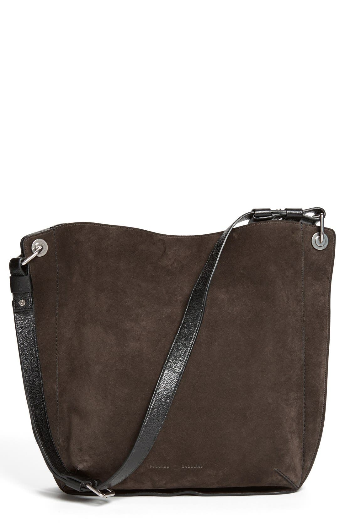 Alternate Image 1 Selected - Proenza Schouler 'Large Prospect' Suede Tote
