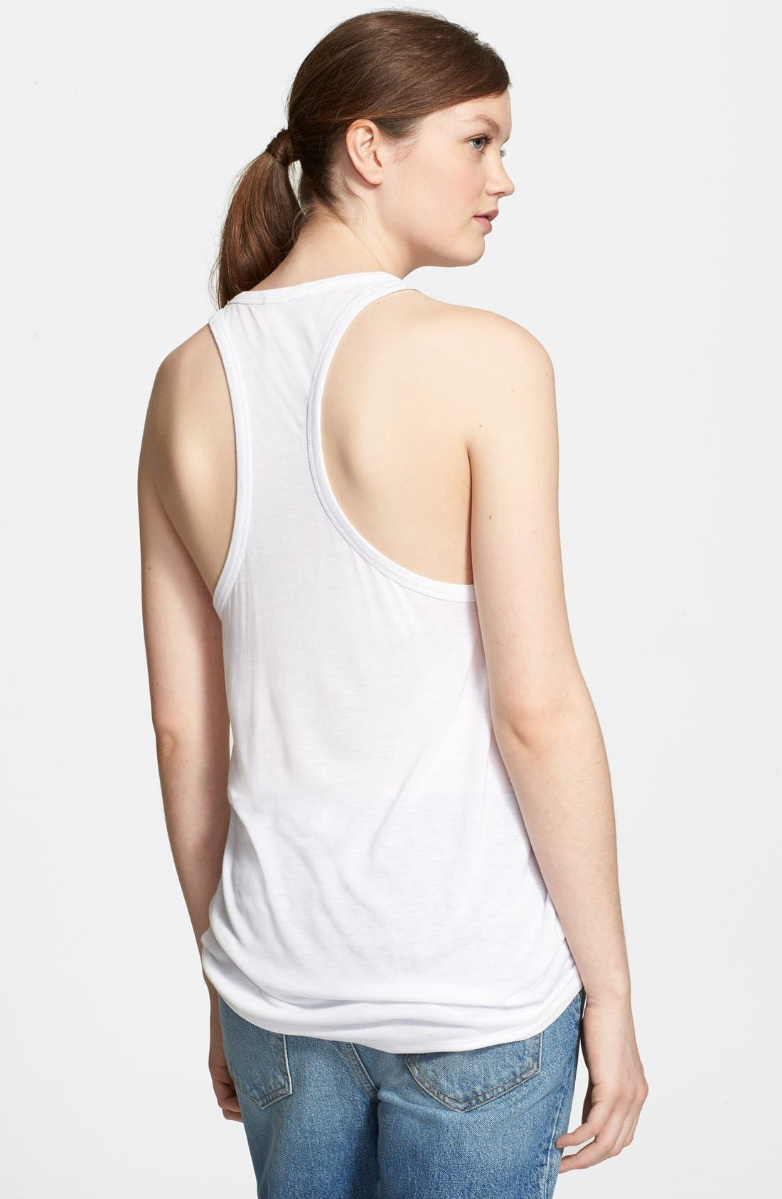 Alternate Image 2  - T by Alexander Wang Knit Tank