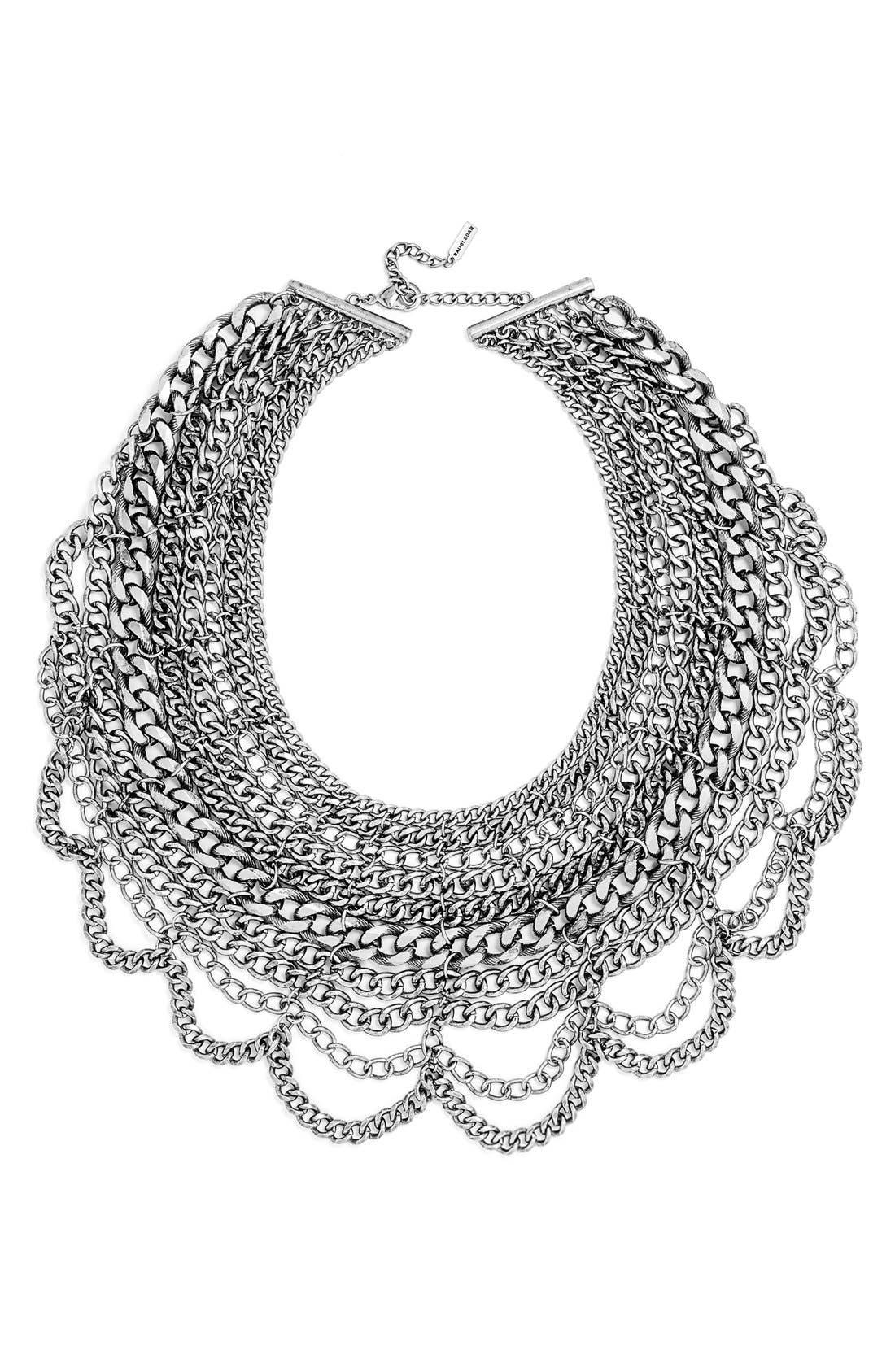Main Image - BaubleBar 'Courtney' Bib Necklace