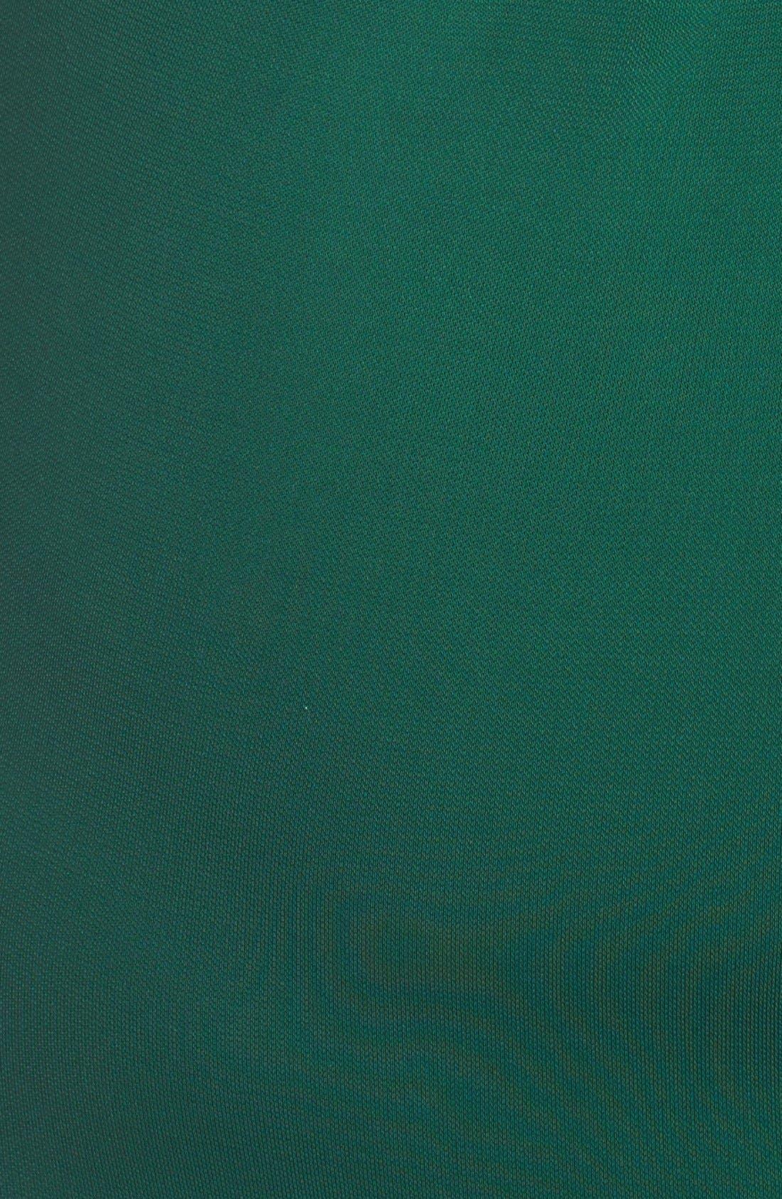 Alternate Image 3  - Badgley Mischka Beaded Jersey Mermaid Gown