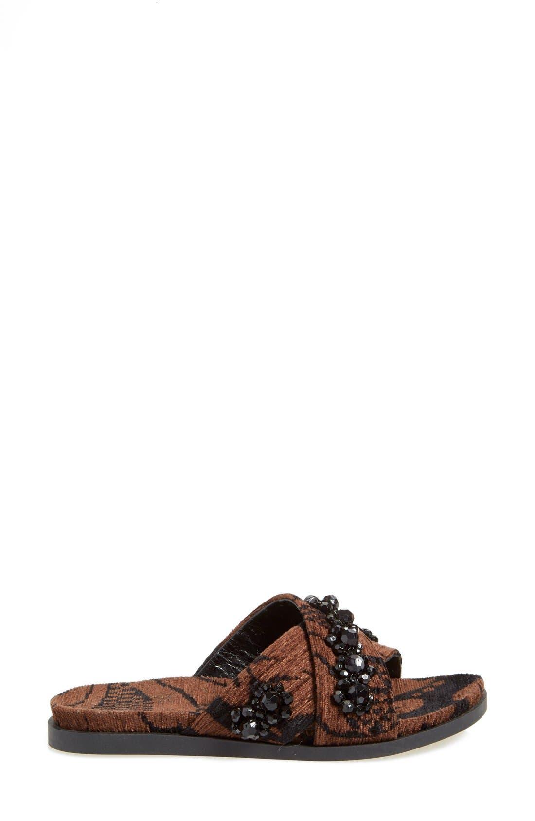 Alternate Image 4  - Simone Rocha Jeweled Slip-On Sandal (Women)