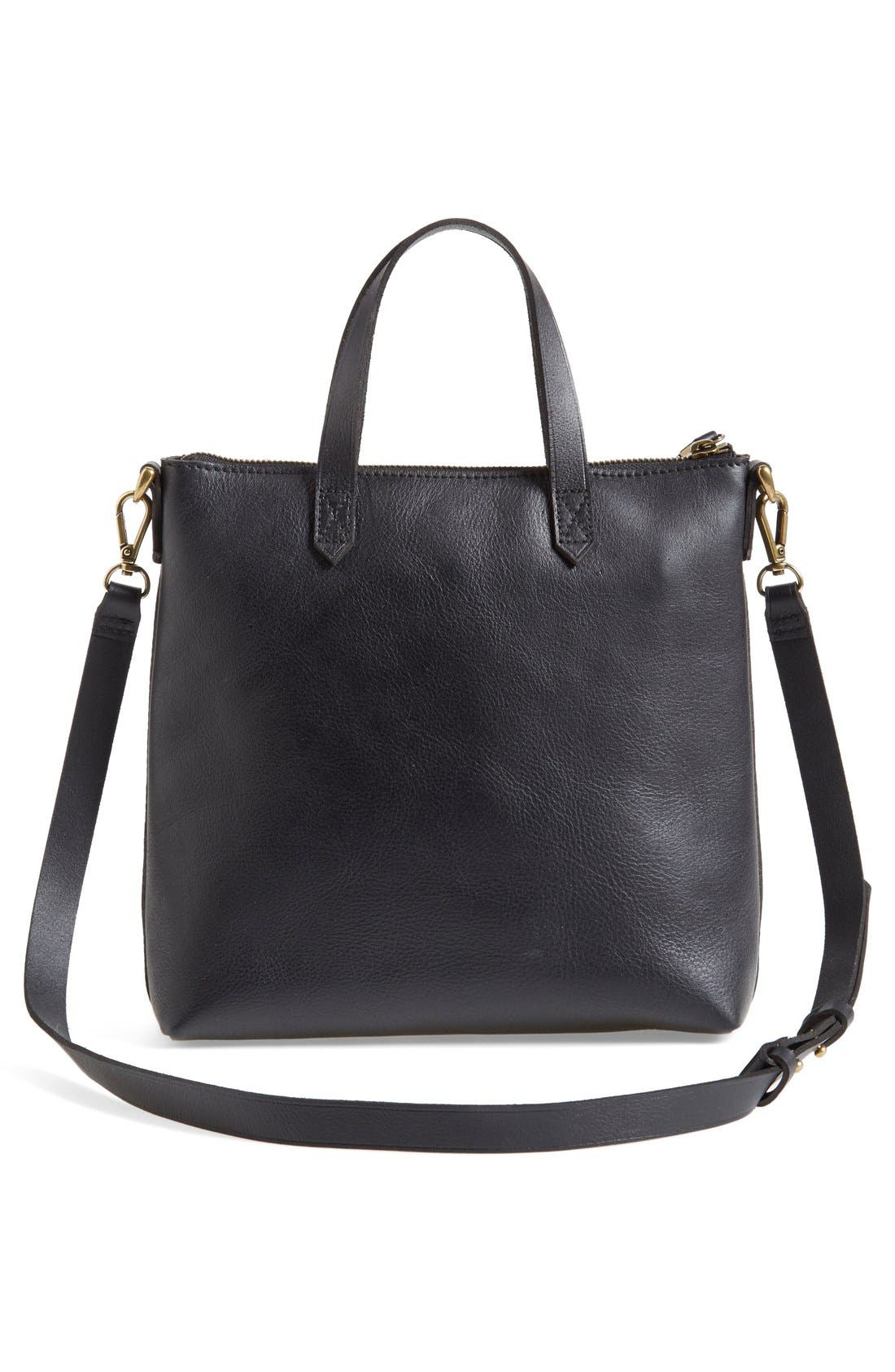 Alternate Image 3  - Madewell The Transport Leather Crossbody Bag