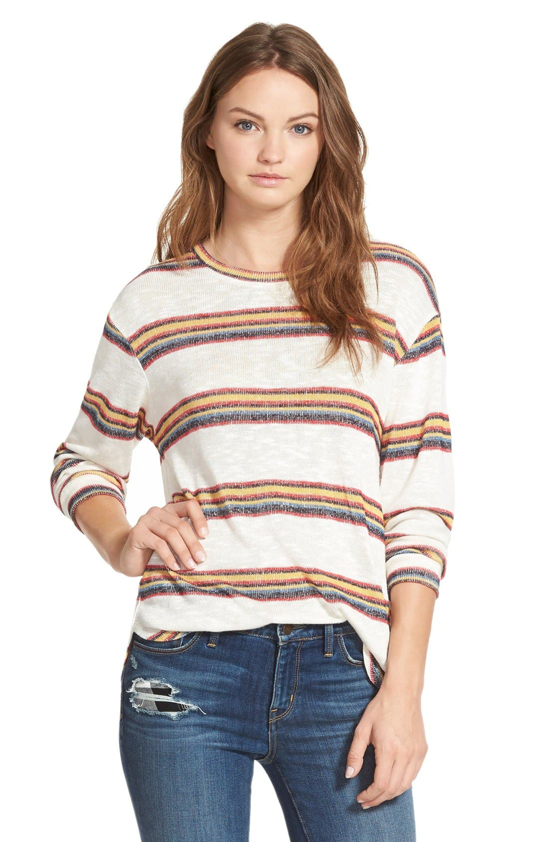 Alternate Image 1 Selected - Ace Delivery Stripe Knit Sweater