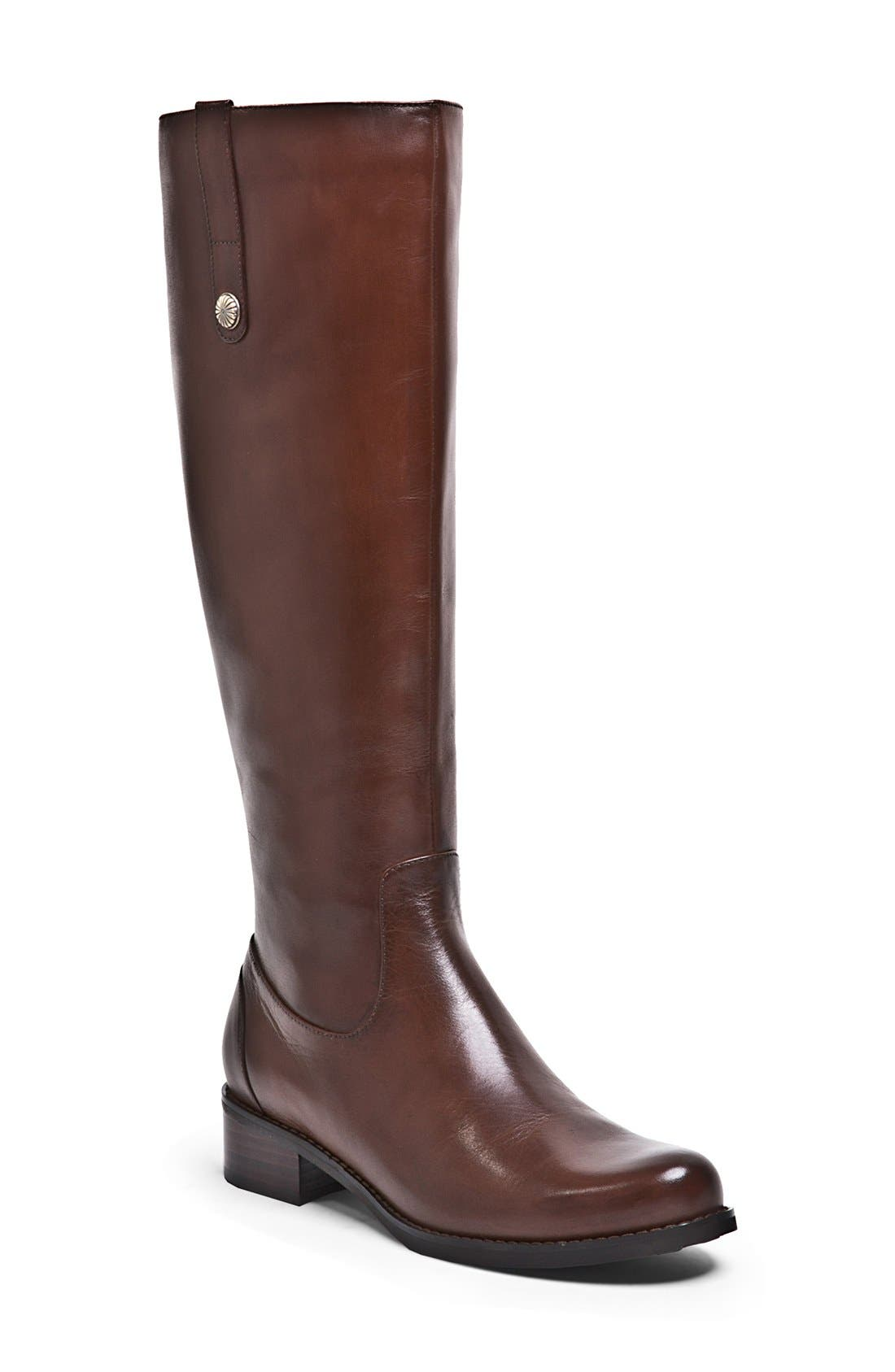 BLONDO 'Victorina' Waterproof Leather Riding Boot