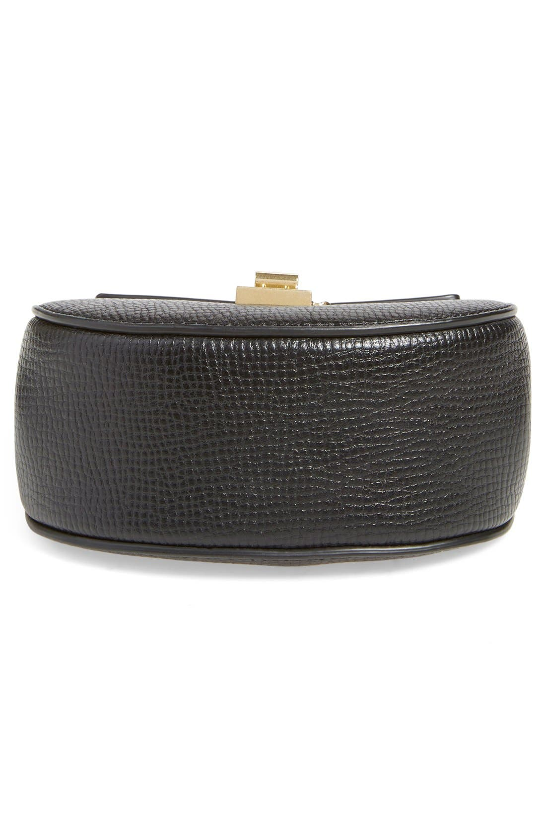 Alternate Image 5  - Chloé 'Nano Drew' Lambskin & Calfskin Leather Shoulder Bag