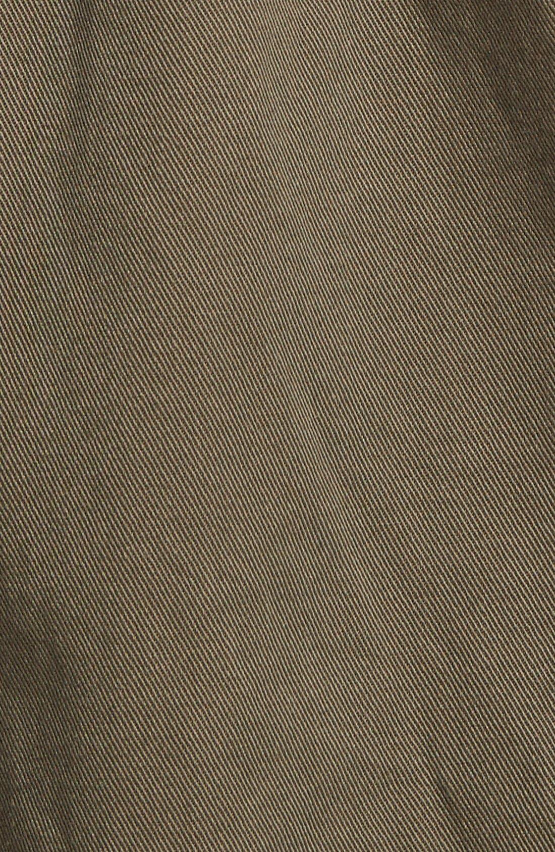 Alternate Image 4  - Sun & Shadow Contrast Sleeve Field Jacket (Juniors)