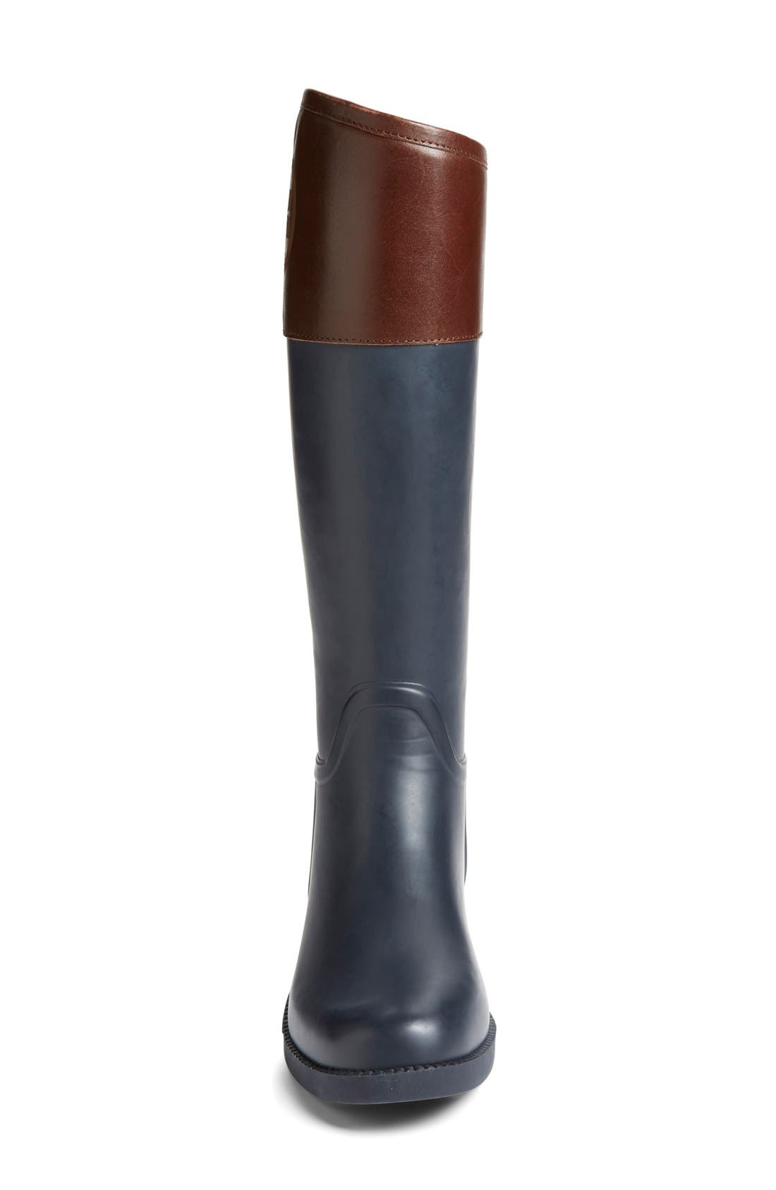Alternate Image 3  - Tory Burch 'Classic' Rain Boot (Women) (Nordstrom Exclusive)