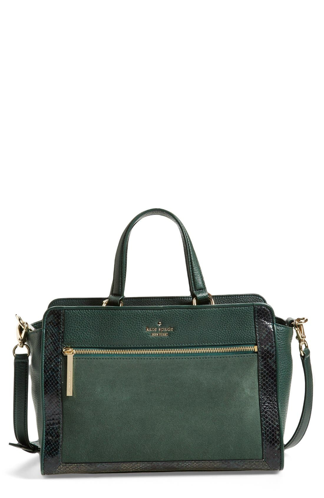 Main Image - kate spade new york 'chatham lane - harlan' satchel