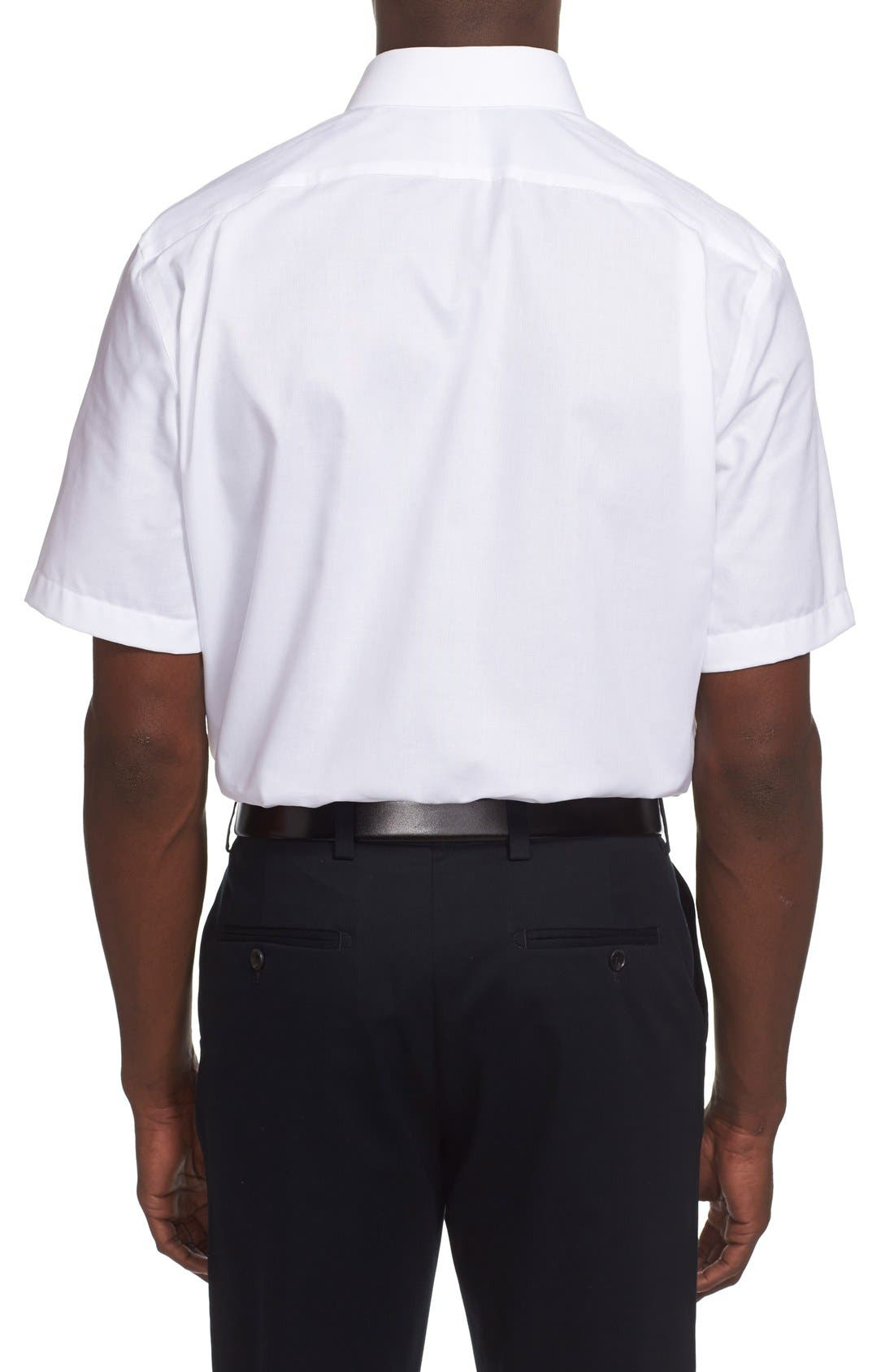 Alternate Image 3  - Nordstrom Men's Shop Traditional Fit Non-Iron Short Sleeve Dress Shirt