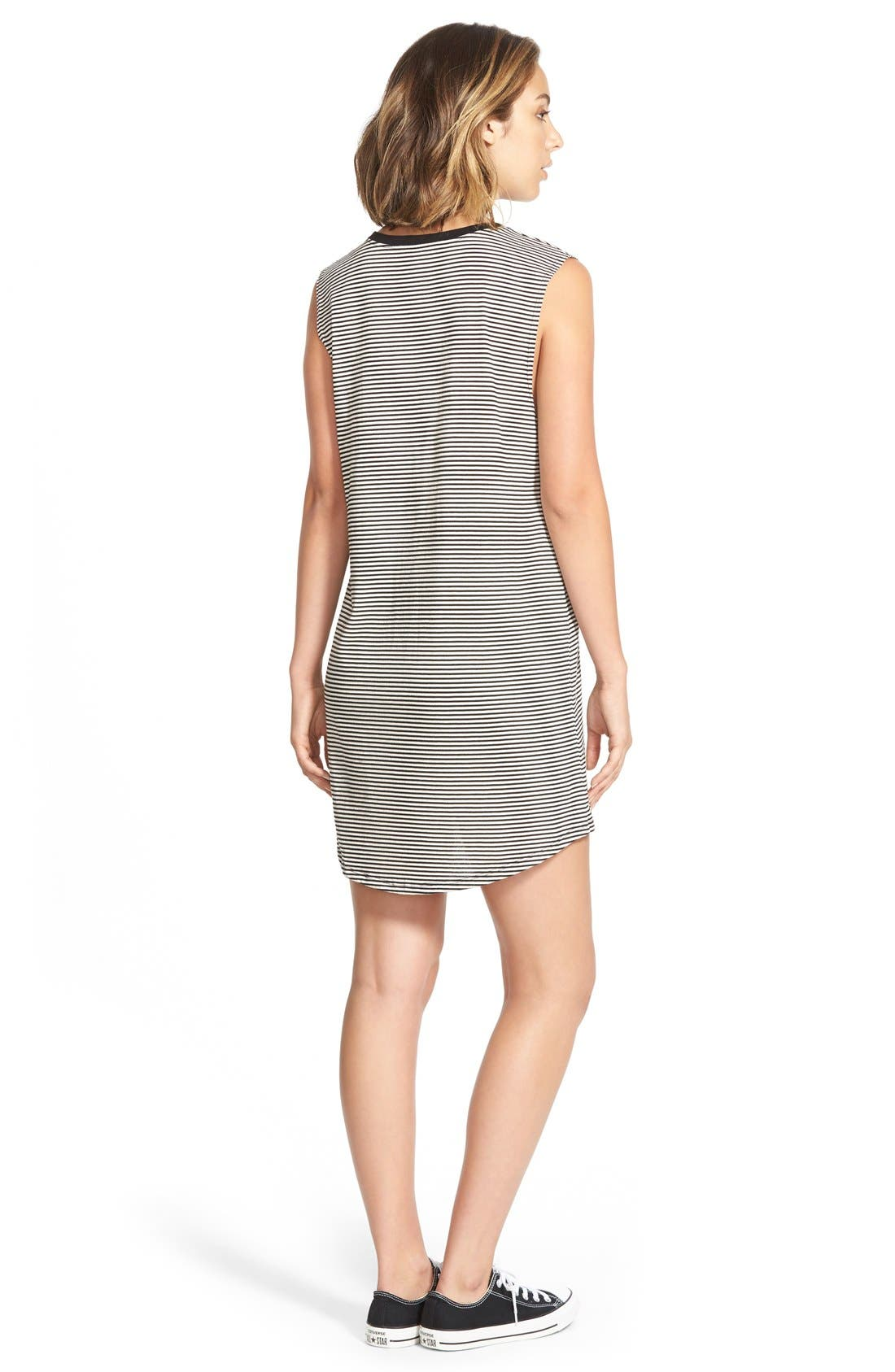 Alternate Image 2  - Volcom 'Lived In' Muscle Tank Dress