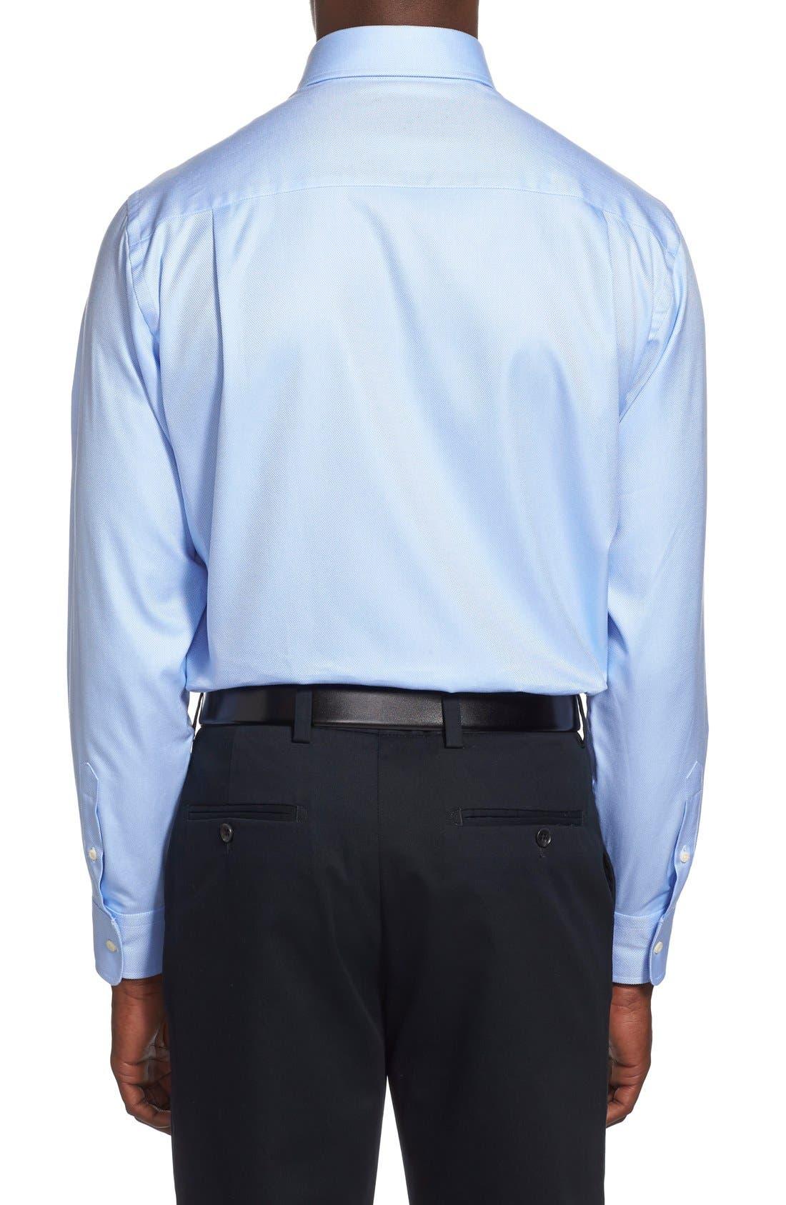 Alternate Image 3  - David Donahue Regular Fit Oxford Dress Shirt