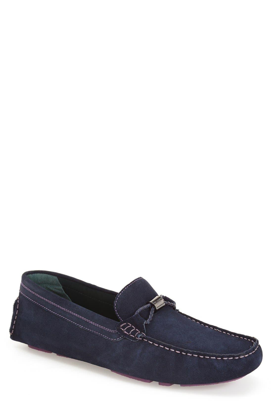 Alternate Image 1 Selected - Ted Baker London 'Carlsun' Driving Shoe (Men)