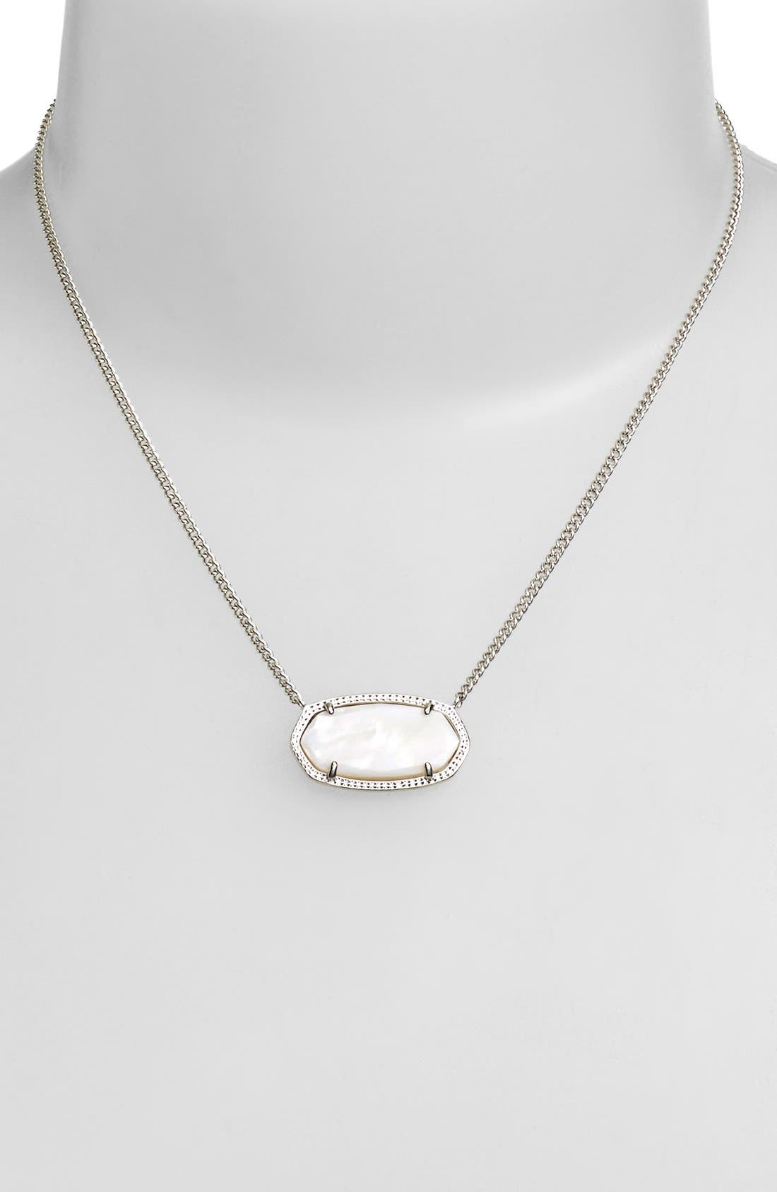Alternate Image 2  - Kendra Scott 'Dylan' Stone Pendant Necklace