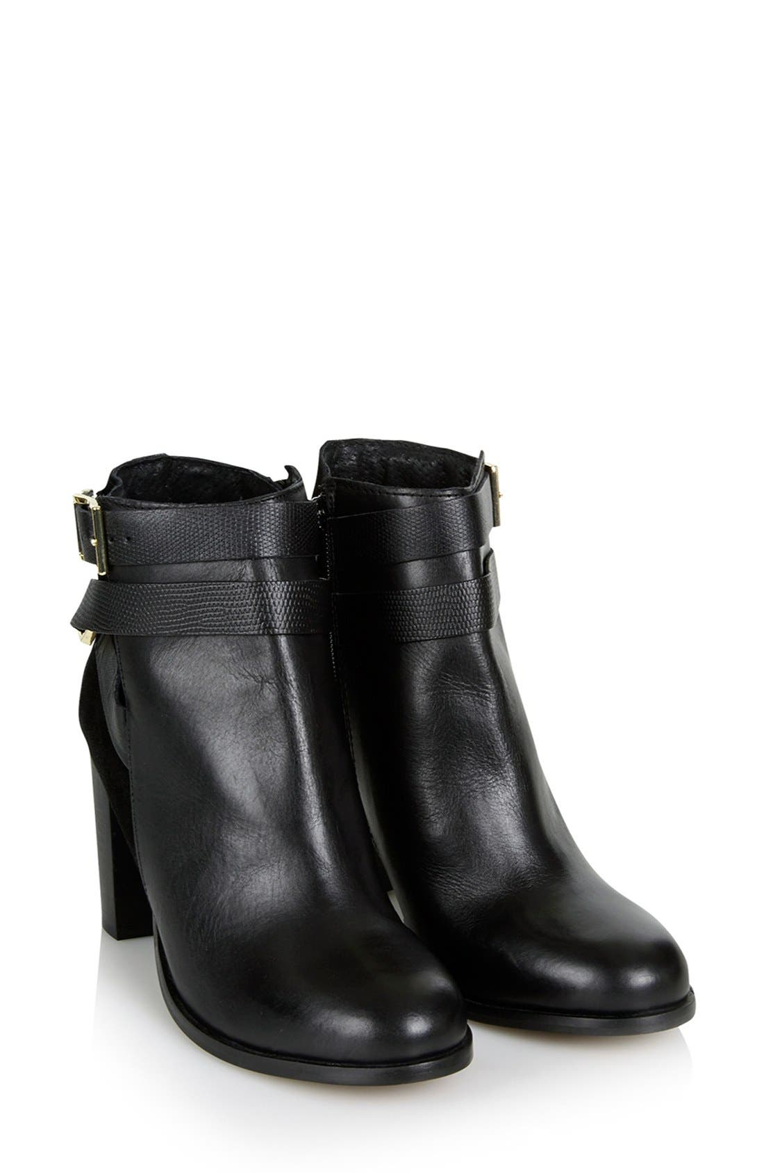Alternate Image 4  - Topshop 'Harper Buckle' Ankle Boot (Women)