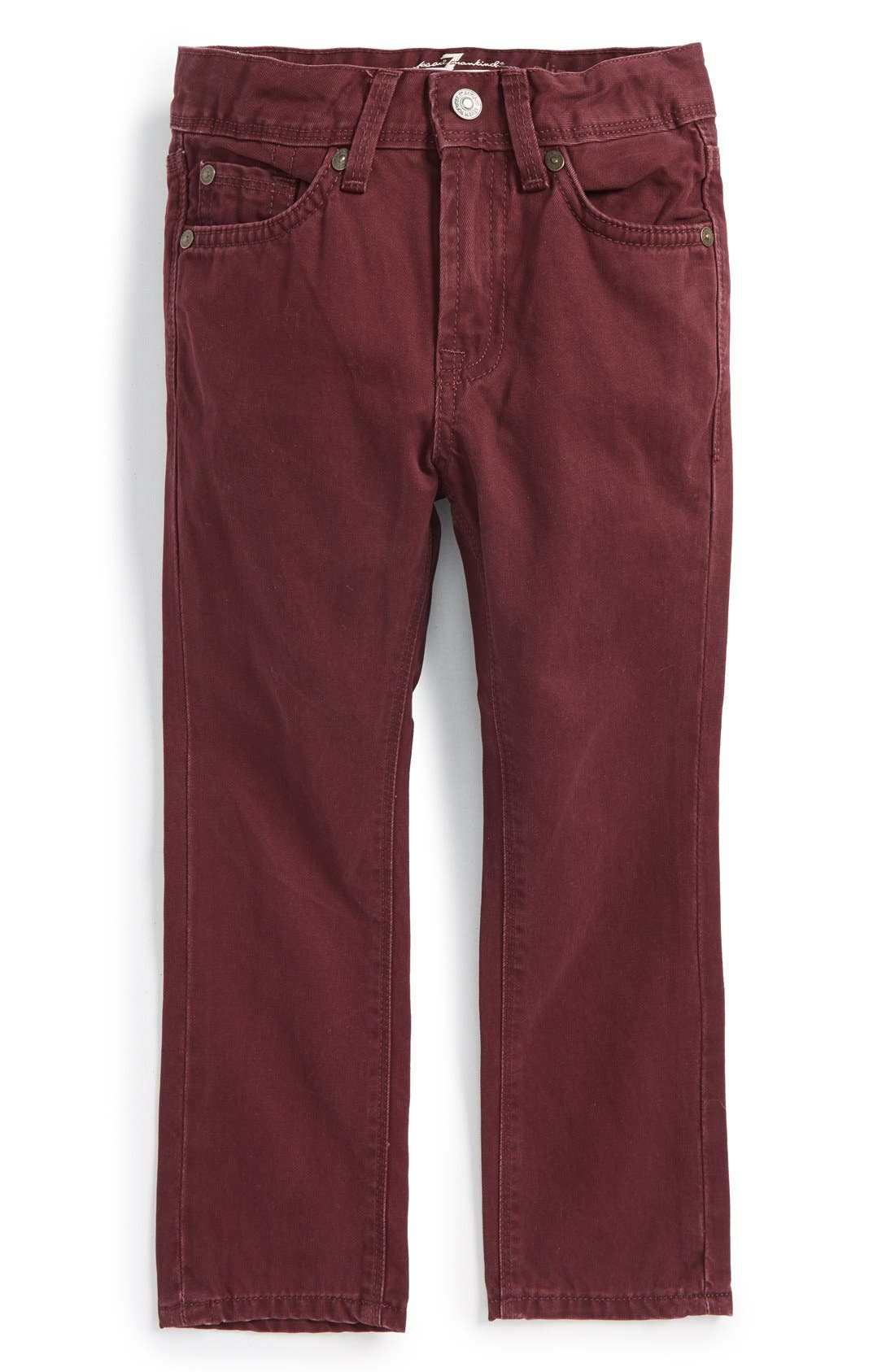 Alternate Image 1 Selected - 7 For All Mankind® 'Slimmy' Slim Fit Jeans (Toddler Boys & Little Boys) (Online Only)