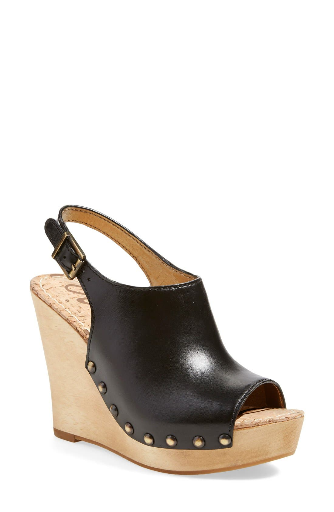 Alternate Image 1 Selected - Sam Edelman'Camilla' Wedge Sandal (Women)