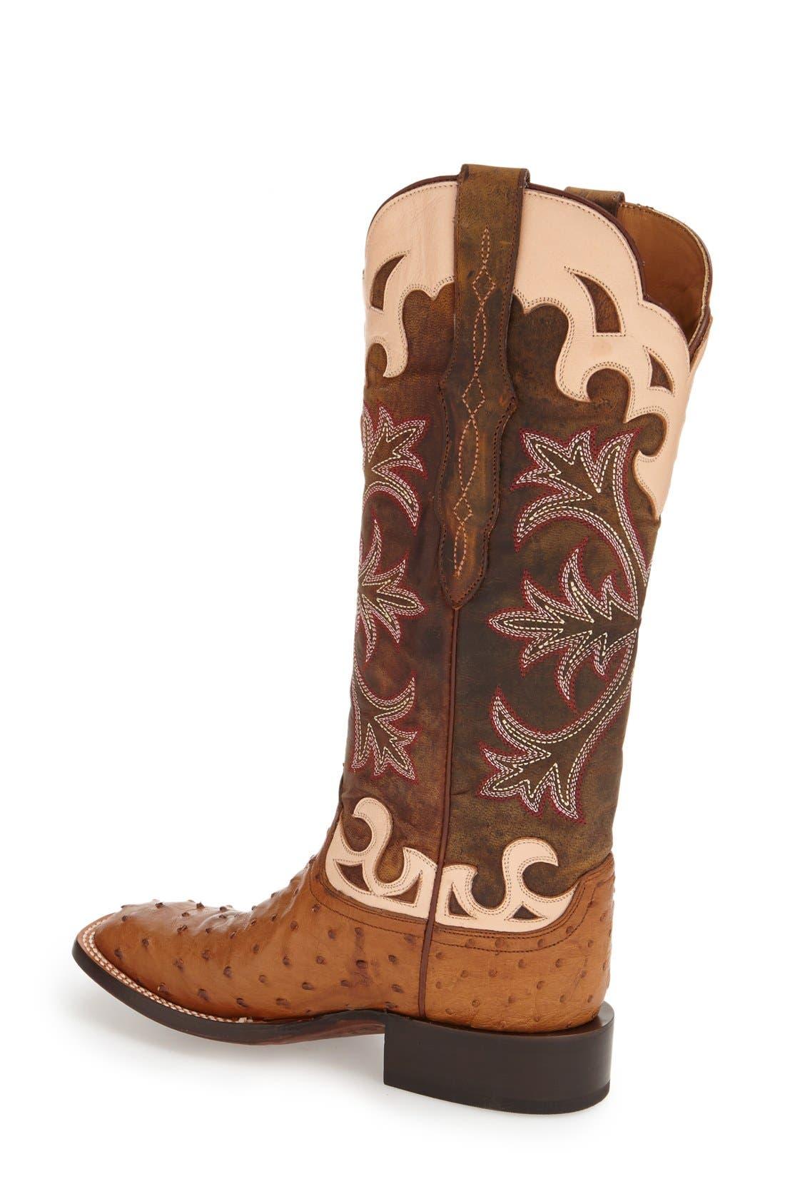 Alternate Image 2  - Lucchese'Sienna' Western Boot (Women)
