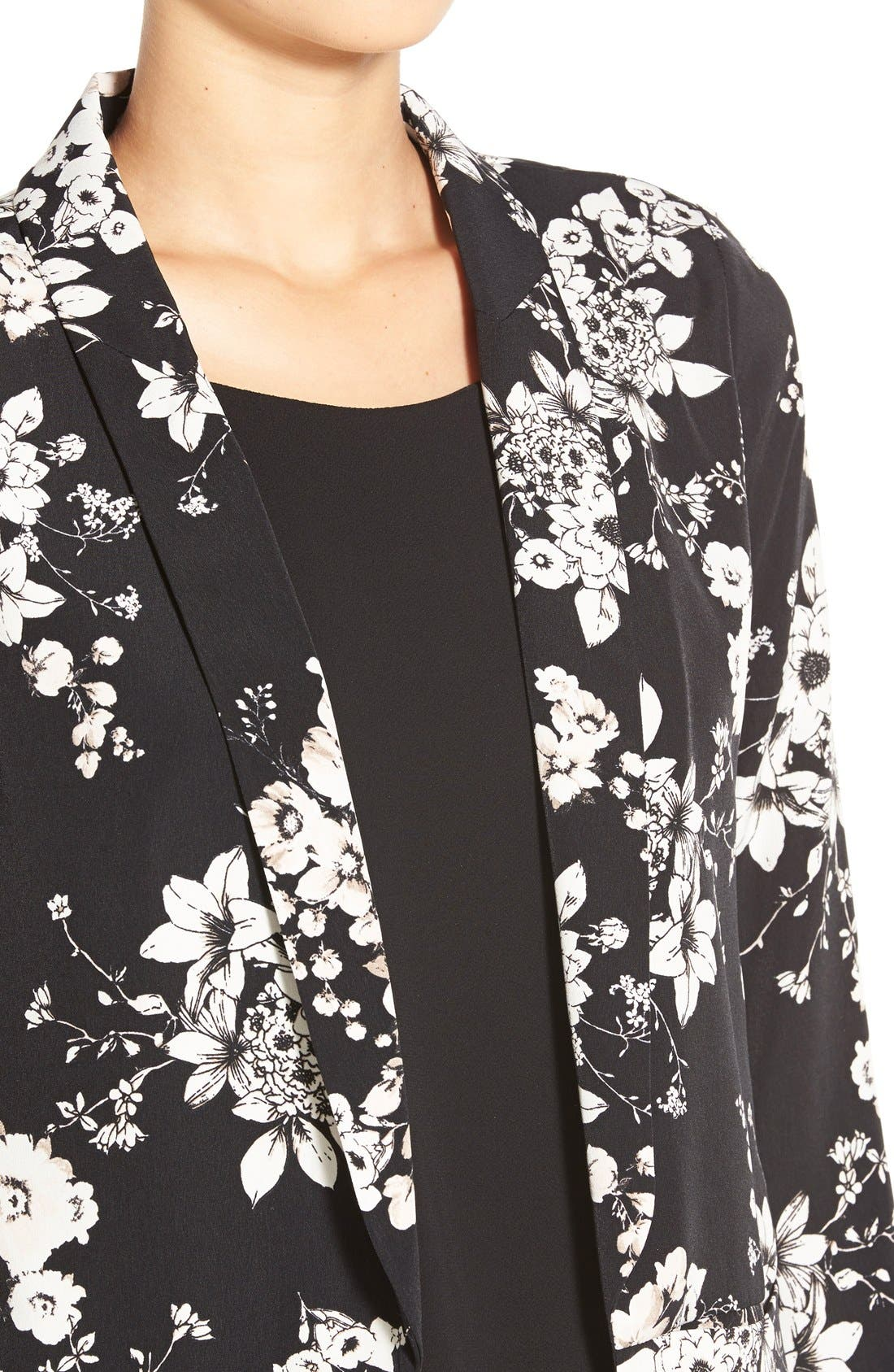 Alternate Image 4  - ASTR Floral Print Blazer