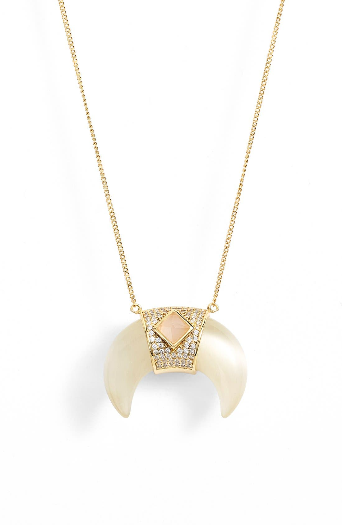 Alternate Image 1 Selected - Melanie AuldPavé Tusk Pendant Necklace