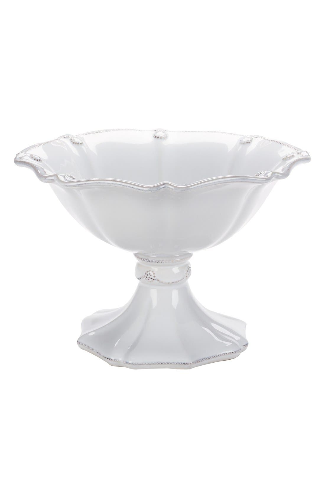 Juliska'Berry and Thread' Ceramic Footed Round Compote