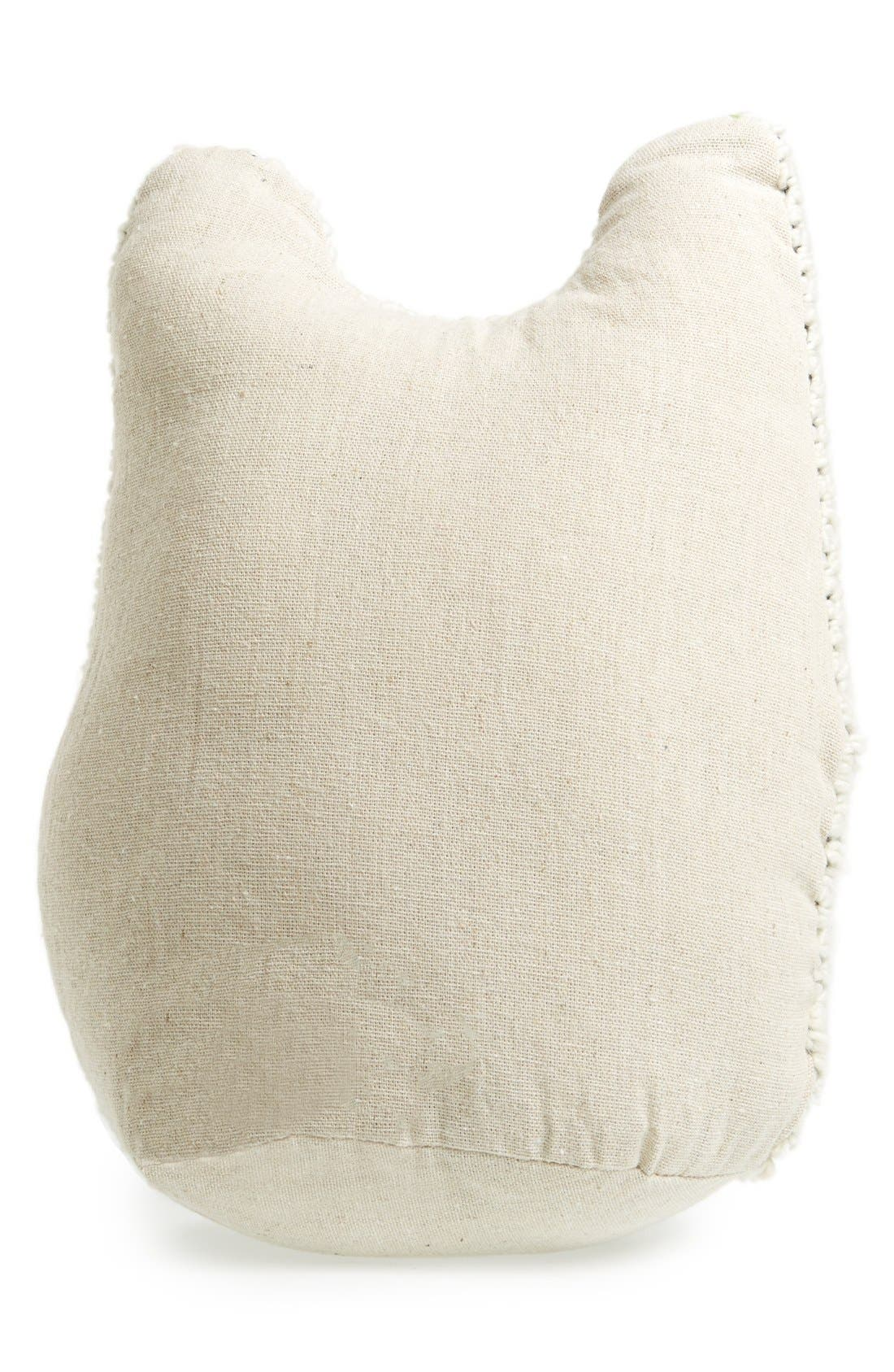 Alternate Image 2  - Levtex Knit Owl Accent Pillow