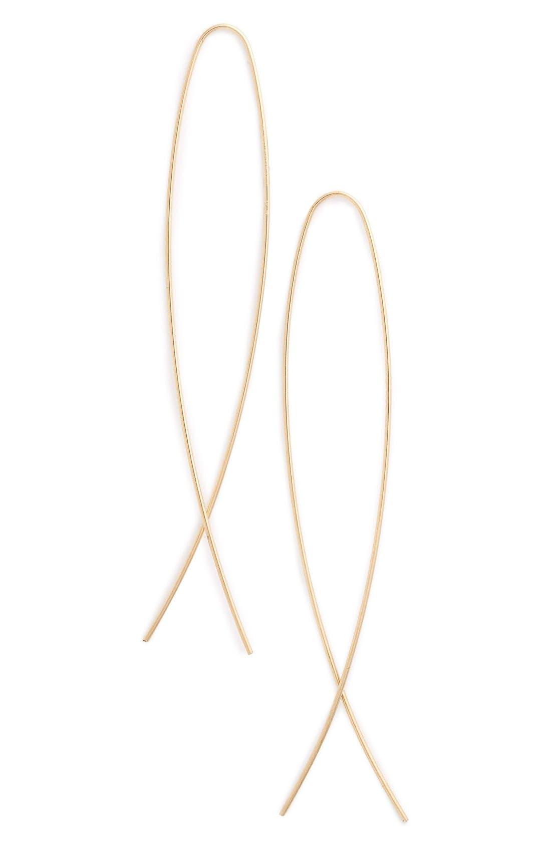 Main Image - Lana JewelryNarrow Wire Earrings