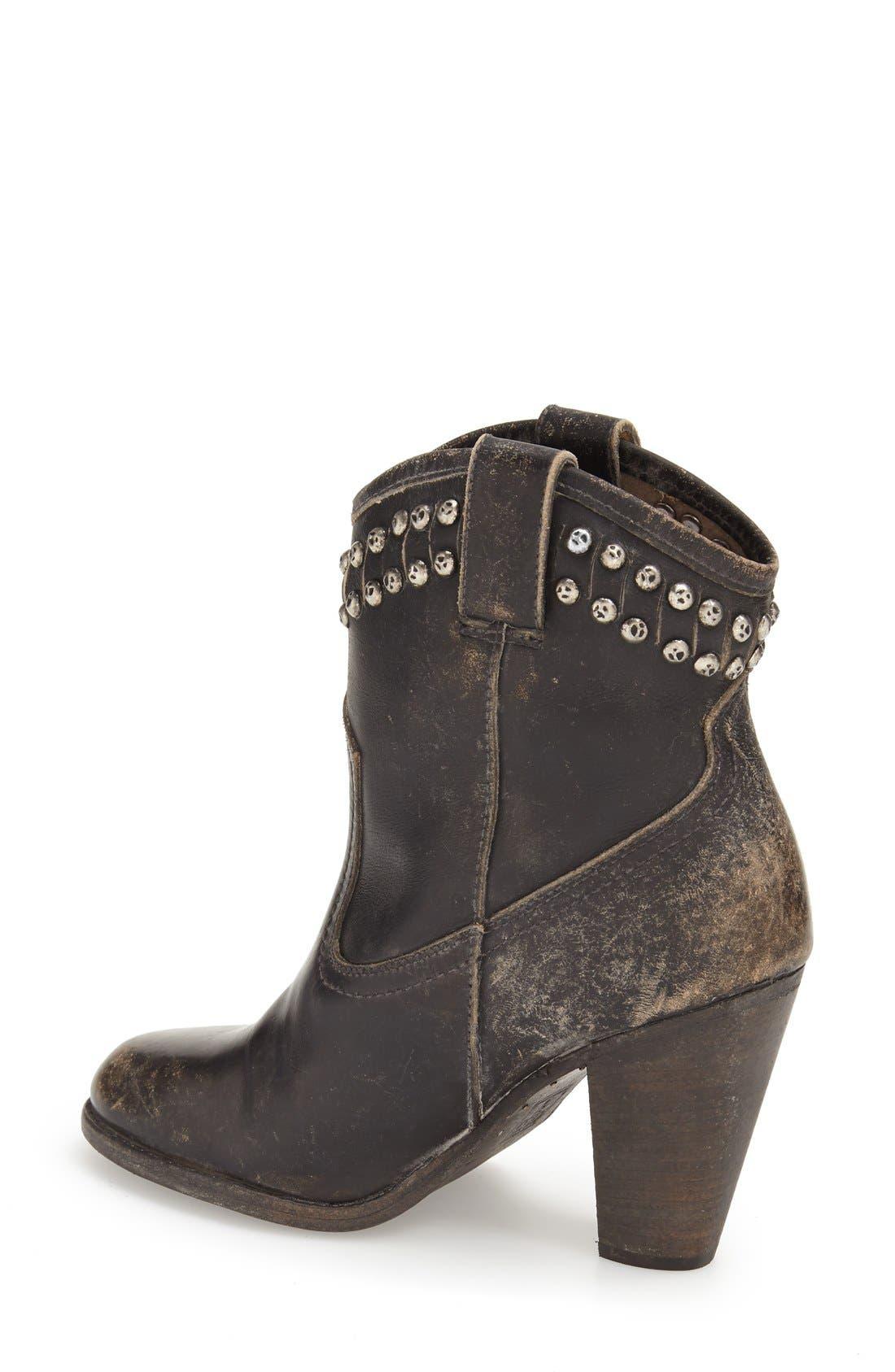 Alternate Image 2  - Frye 'Jenny -Cut Stud' Short Boot (Women)