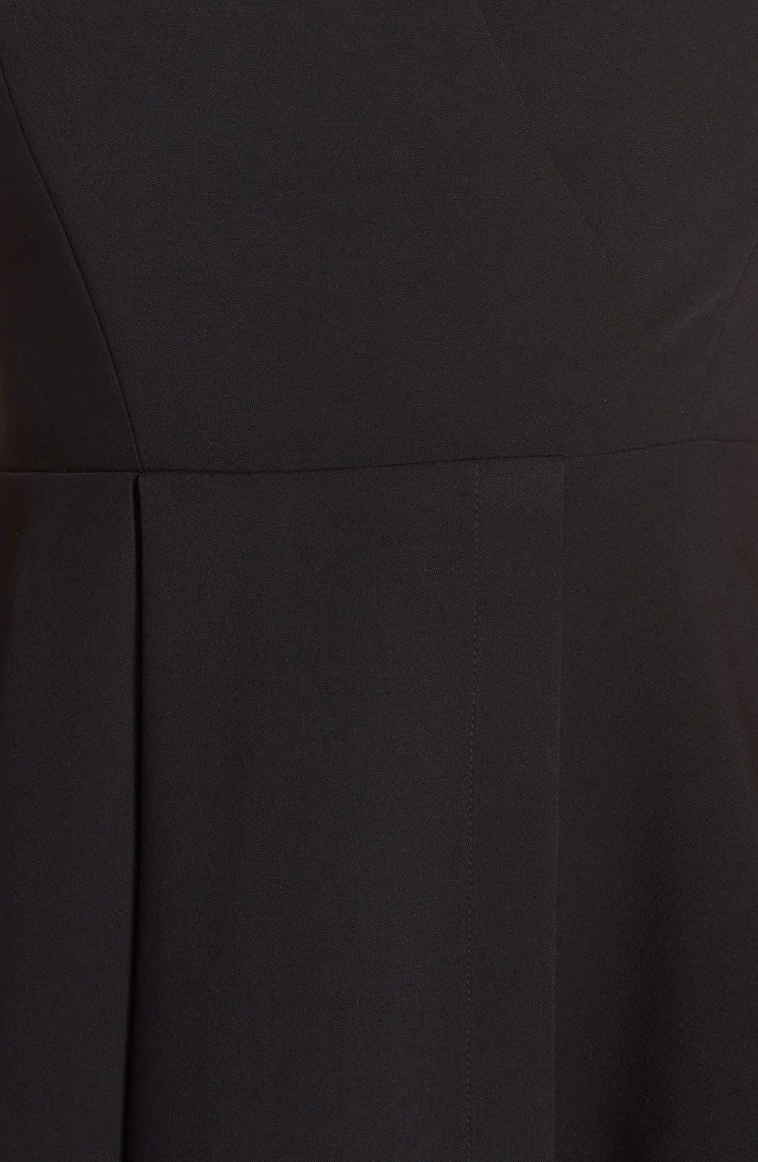 Alternate Image 6  - Adelyn Rae Asymmetrical Fit & Flare Dress